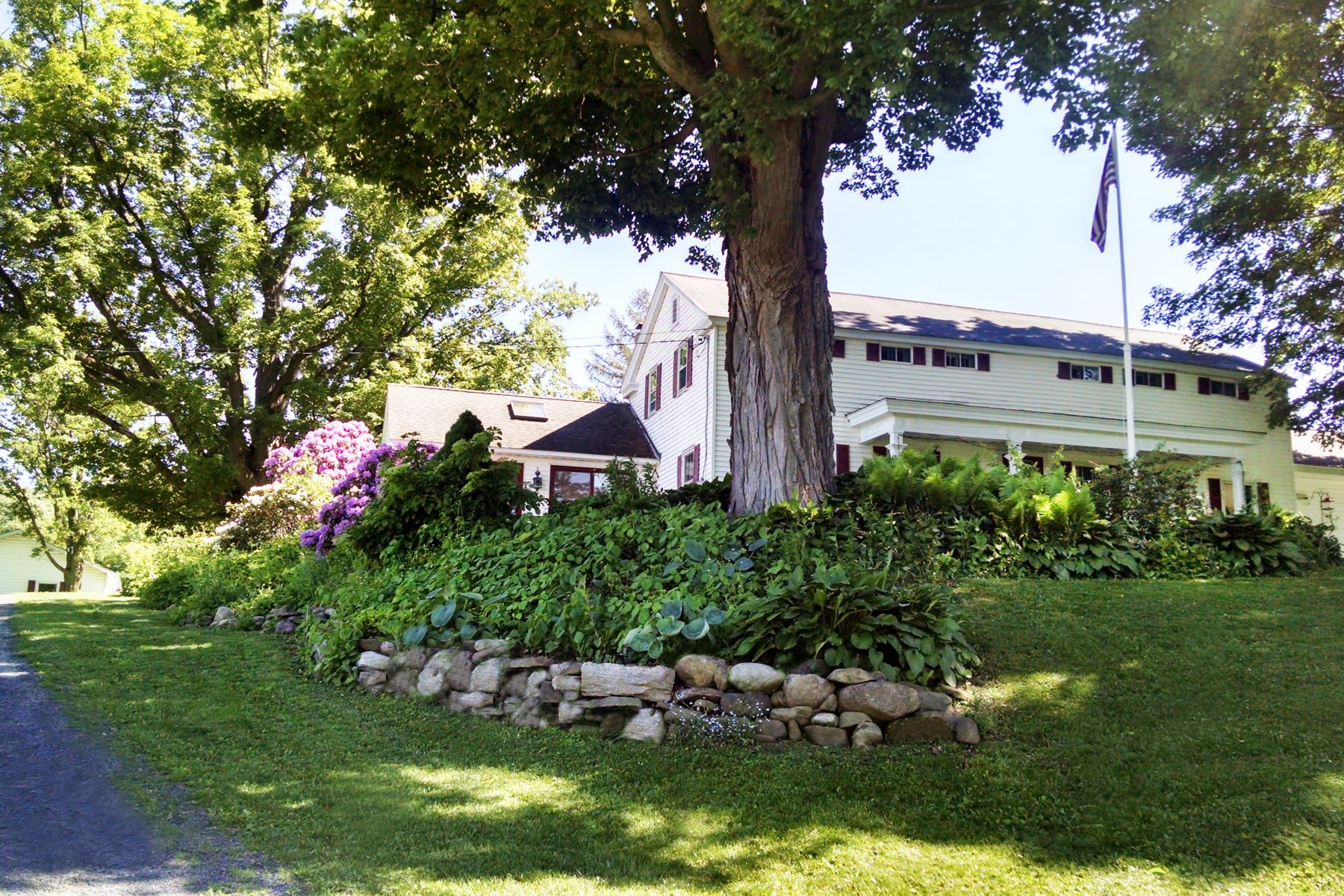 Single Family Homes for Sale at Picturesque Yates Estate 124 Dutchess Dr Sprakers, New York 12166 United States