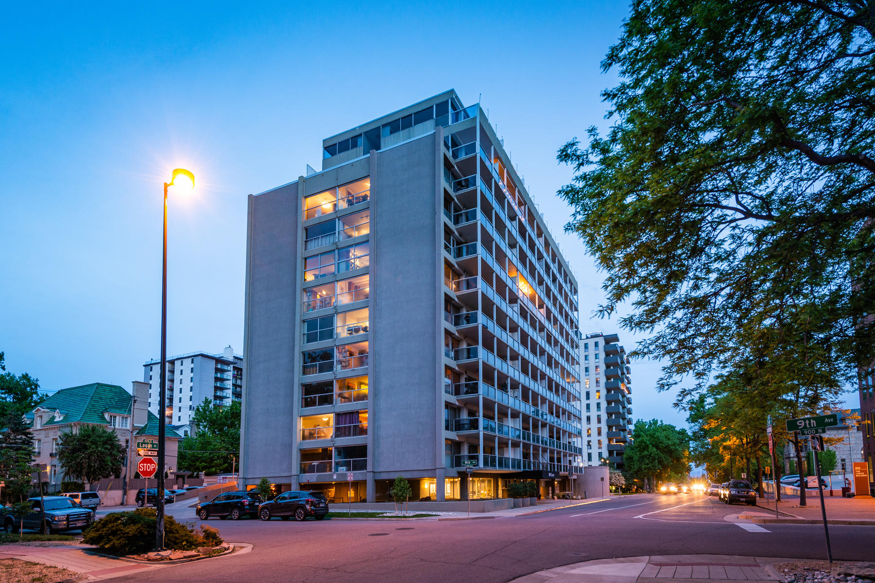 Condominium for Active at Wonderfully Updated Condo In Cap Hill 888 N Logan St #6H Denver, Colorado 80203 United States