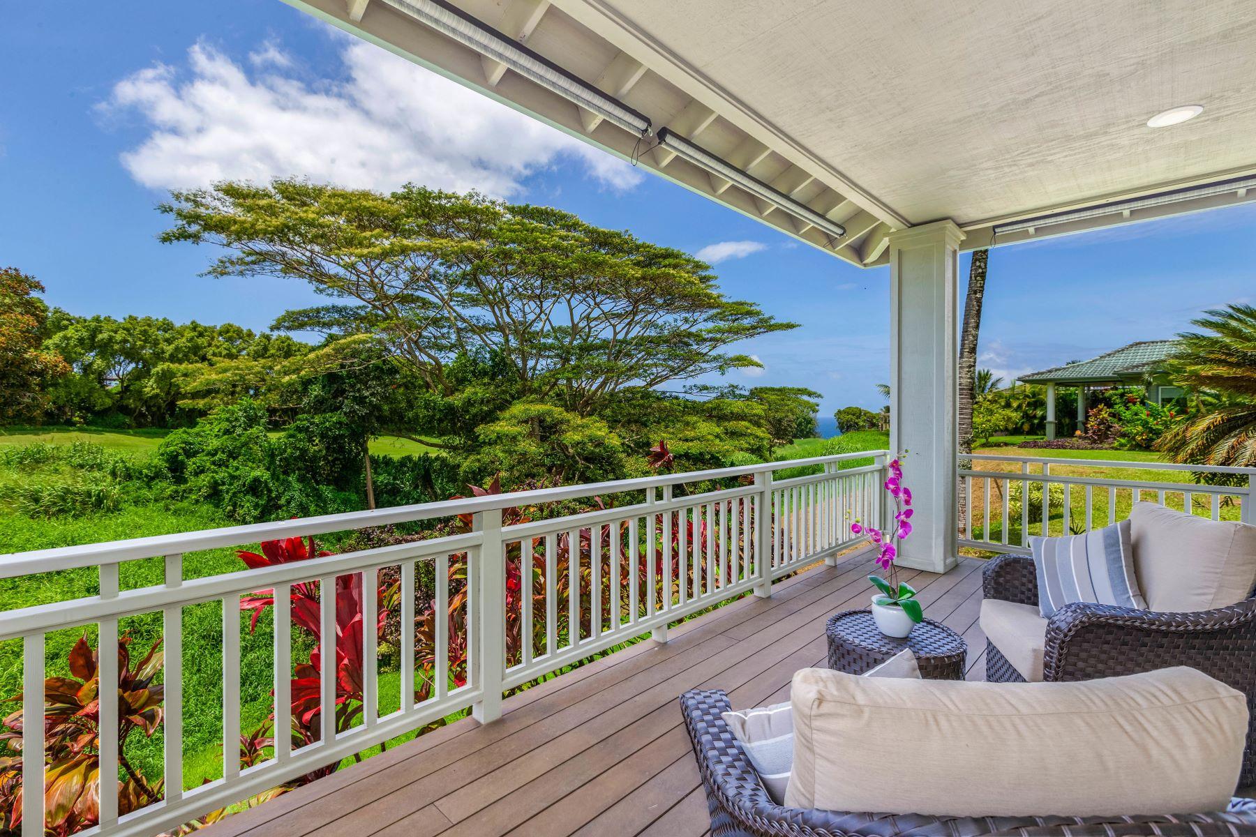 獨棟家庭住宅 為 出售 在 4028 Aloalii Drive 4028 Aloalii Drive Princeville, 夏威夷 96722 美國