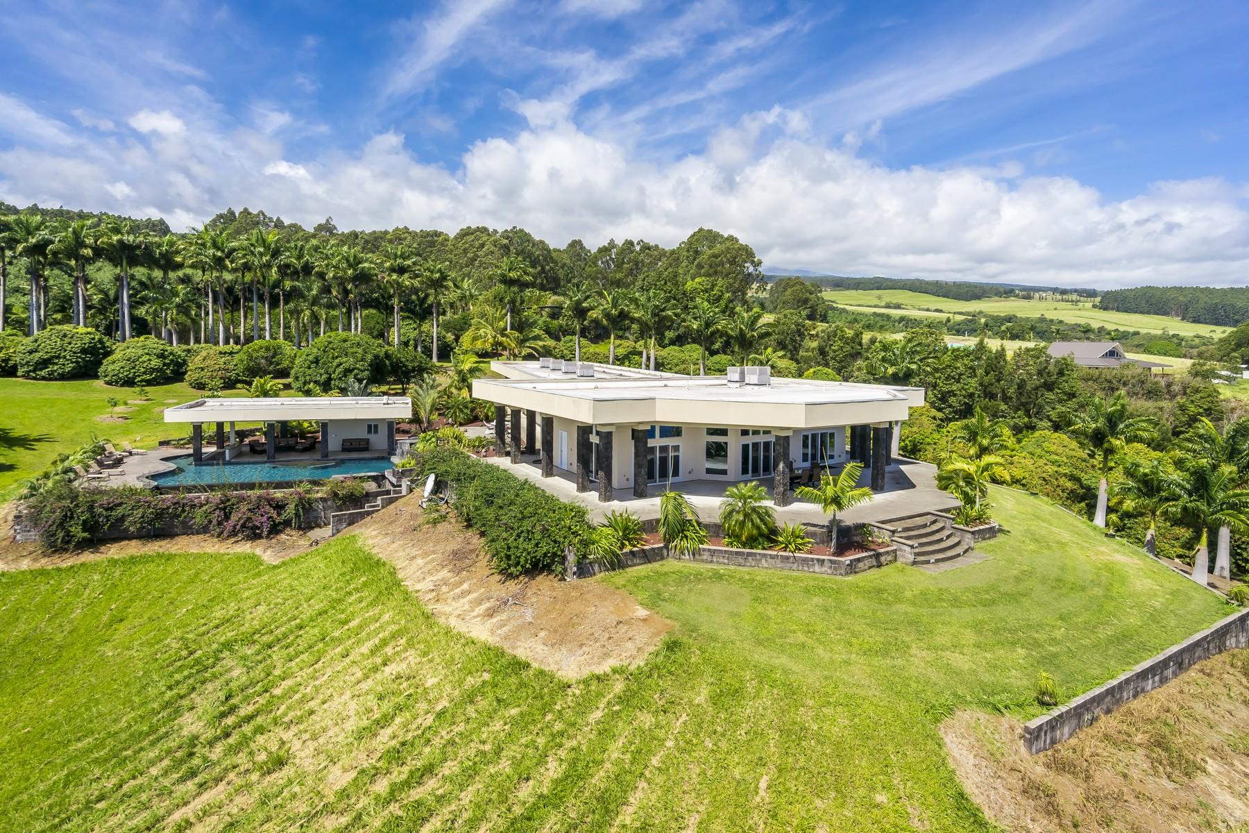 Nhà ở một gia đình vì Bán tại Royal Palms Estate 34-144 Kaihuiki Rd Papaaloa, Hawaii, 96789 Hoa Kỳ