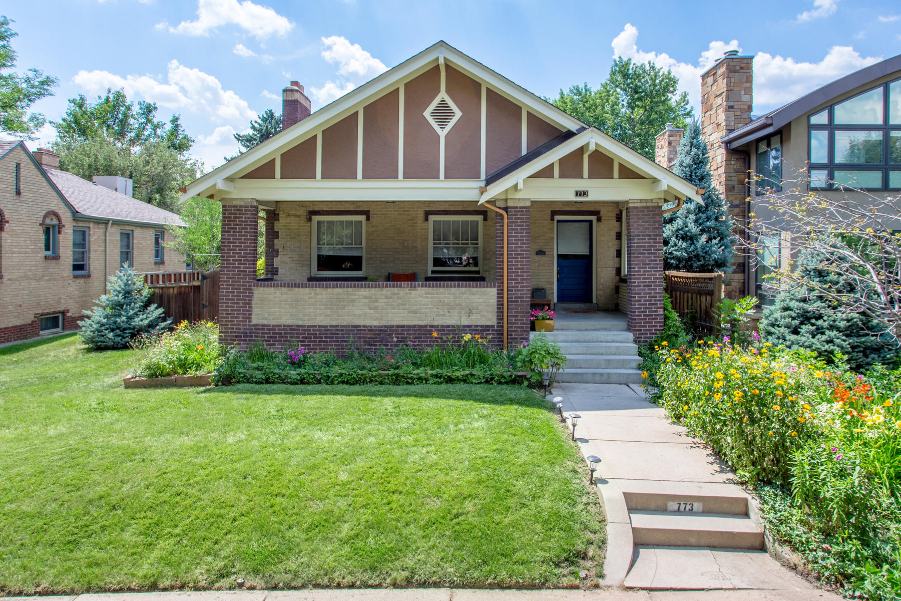 Single Family Home for Active at Congress Park Bungalow with Relaxing Outdoor Pool 773 Clayton Street Denver, Colorado 80206 United States