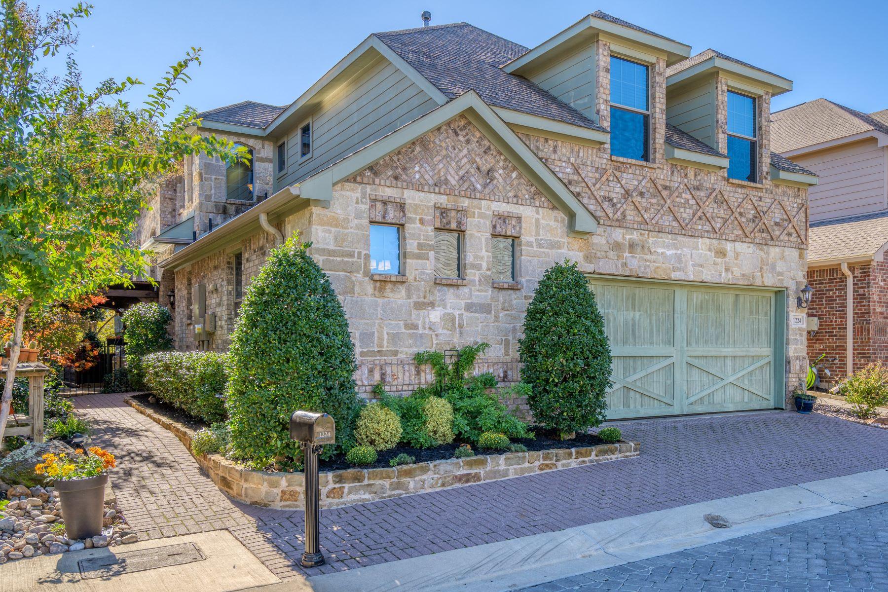 Single Family Homes for Sale at Rare Opportunity Awaits in Keller Town Center 1224 Fowler Street Keller, Texas 76248 United States