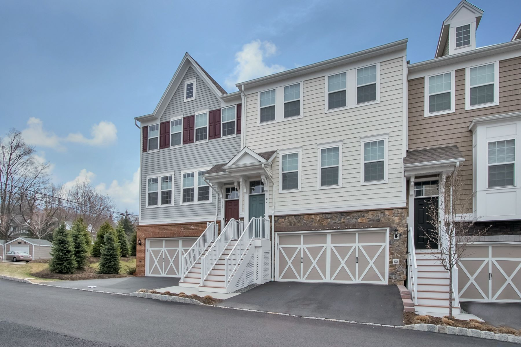 Townhouse for Sale at Luxury Townhouse 102 Orchard Ter, Cresskill, New Jersey, 07626 United States