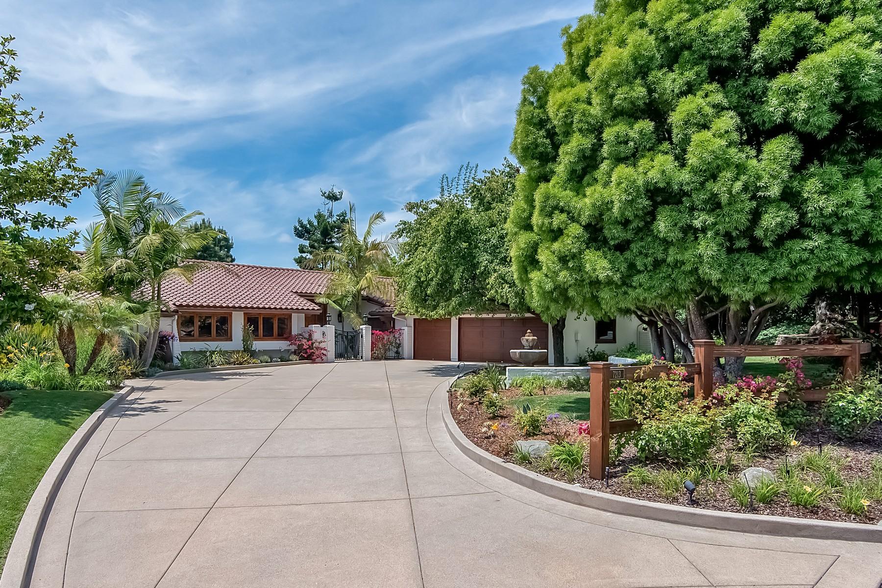 Vivienda unifamiliar por un Venta en 7213 Almaden Lane Carlsbad, California, 92009 Estados Unidos