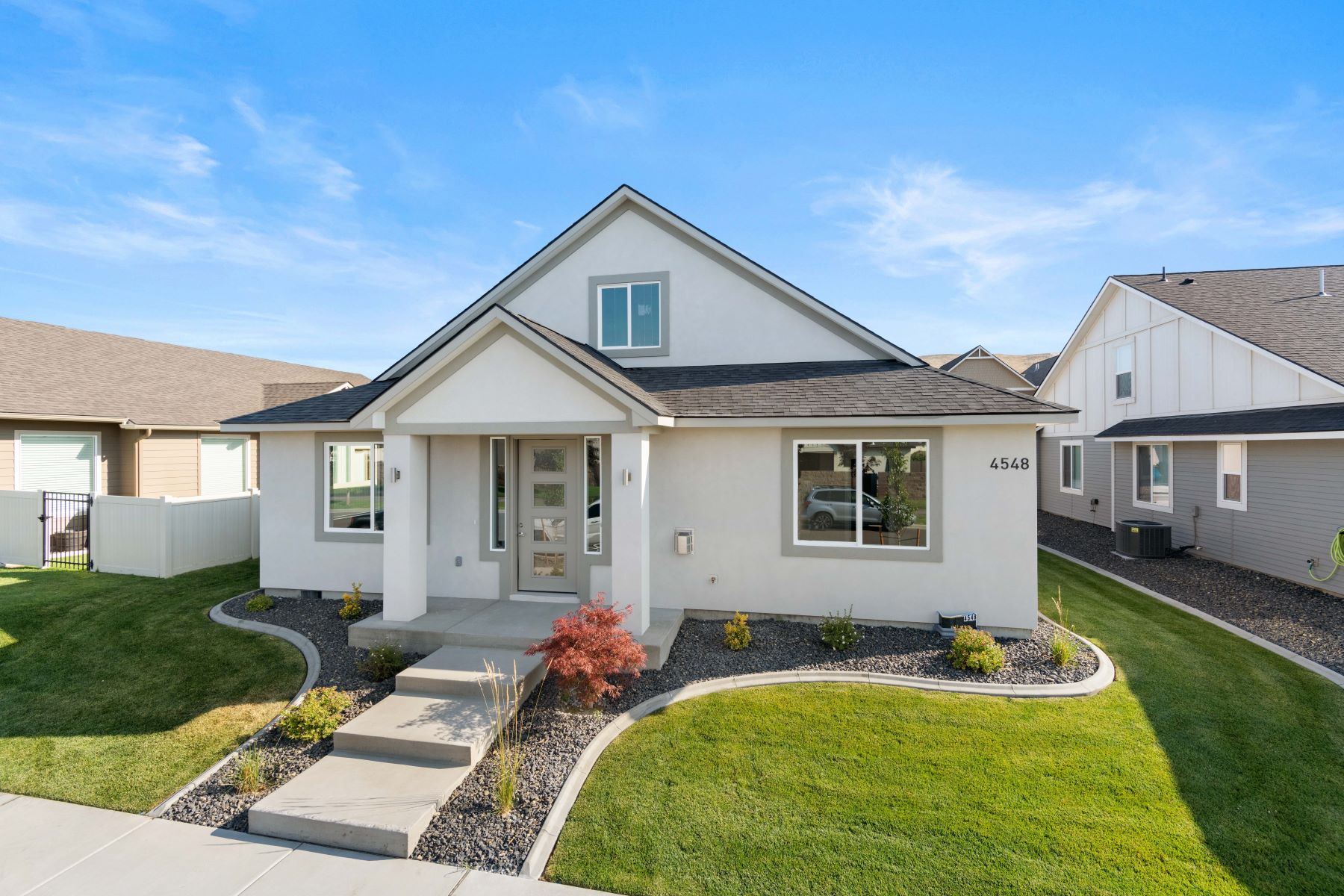Single Family Homes for Sale at Brand new, walk to park, 4 bedroom! 4548 Ava Way Richland, Washington 99352 United States
