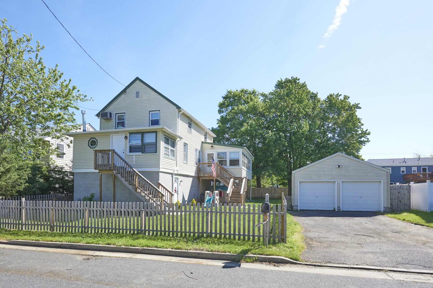 Single Family Homes for Sale at 18 1st Avenue, Port Monmouth 18 1st Avenue Port Monmouth, New Jersey 07758 United States