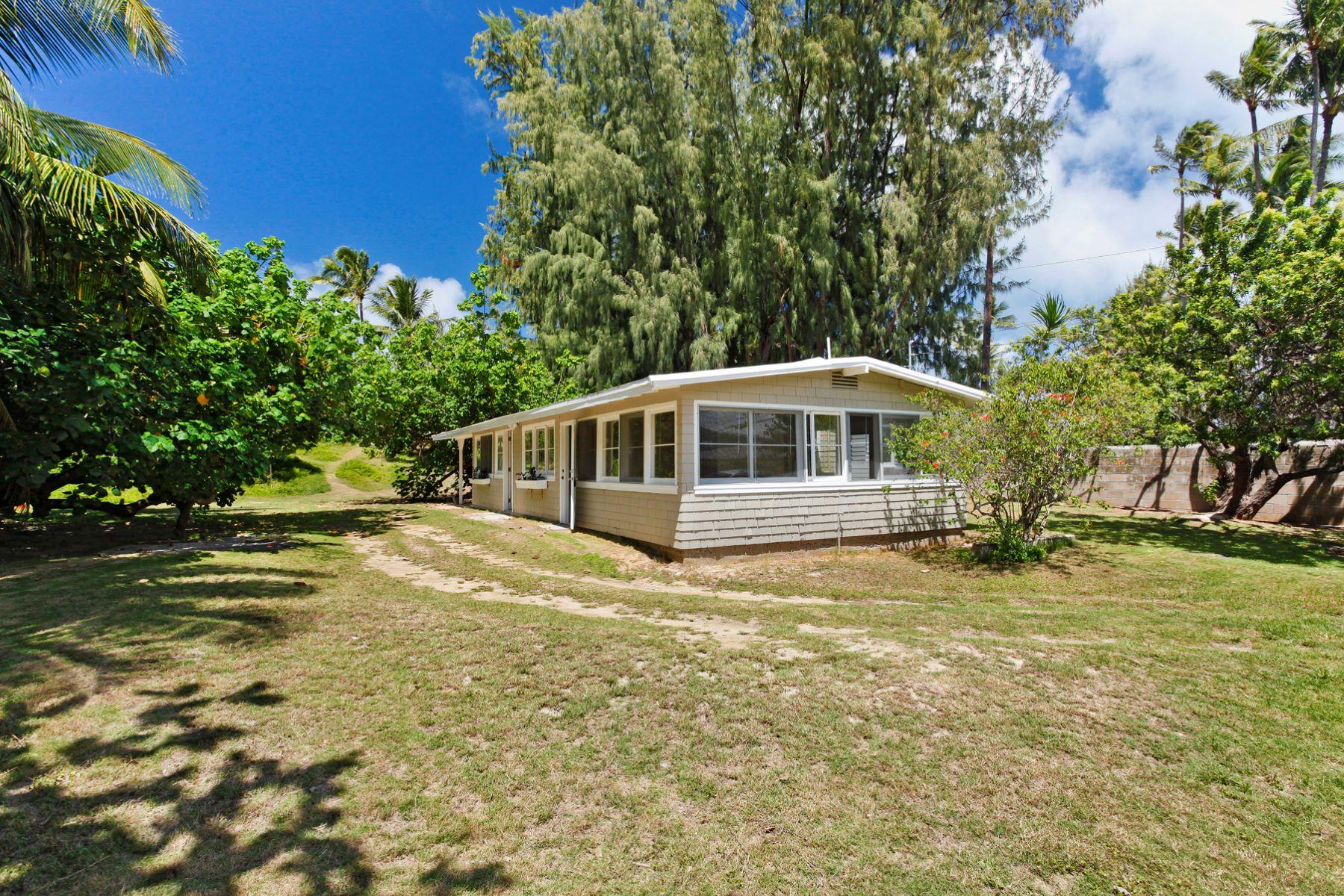 Casa Unifamiliar por un Venta en Kailua Beach Cottage 12 Kailua Rd Kailua, Hawaii 96734 Estados Unidos