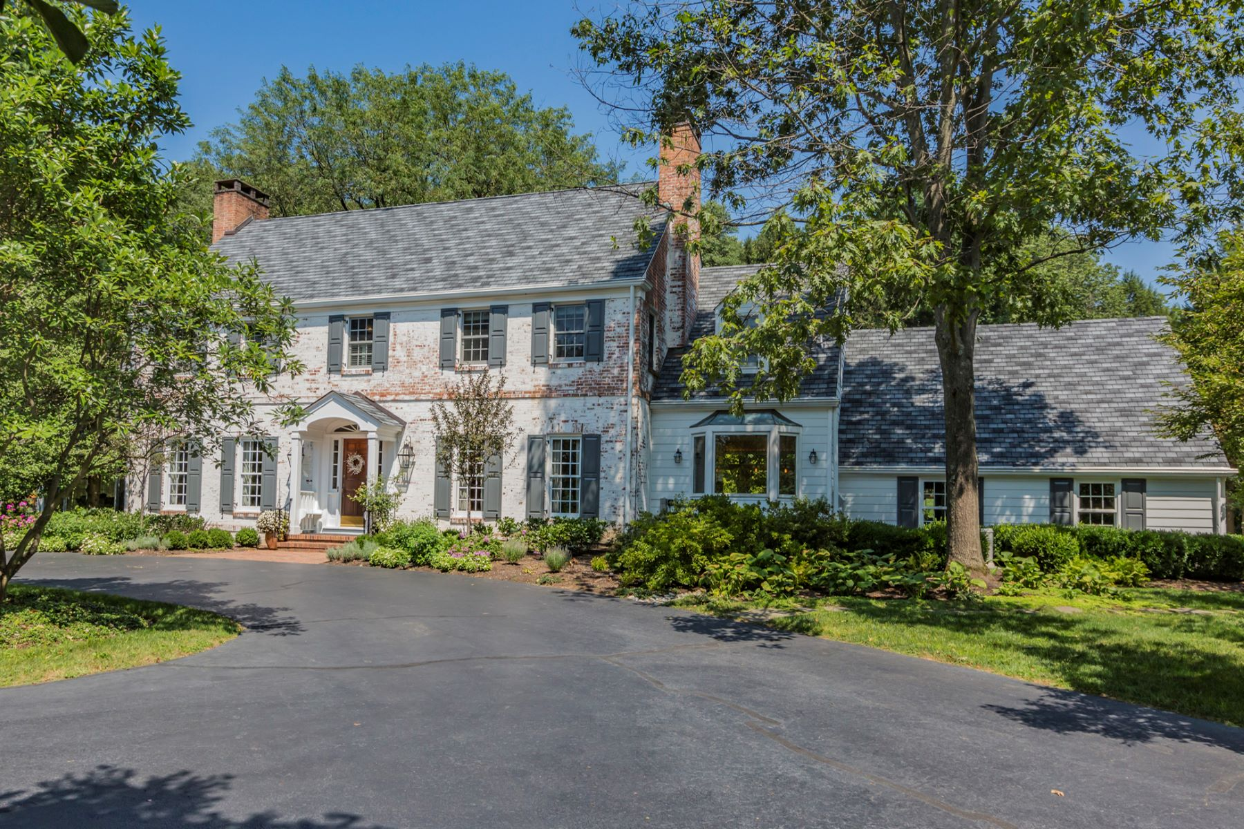 Property for Sale at Refined Colonial Framed by Magnificent Grounds 121 Winfield Road, Princeton, New Jersey 08540 United States