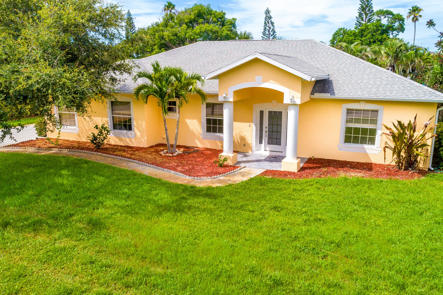 Single Family Home for Sale at 403 Hibiscus Trail Melbourne Beach, Florida 32951 United States