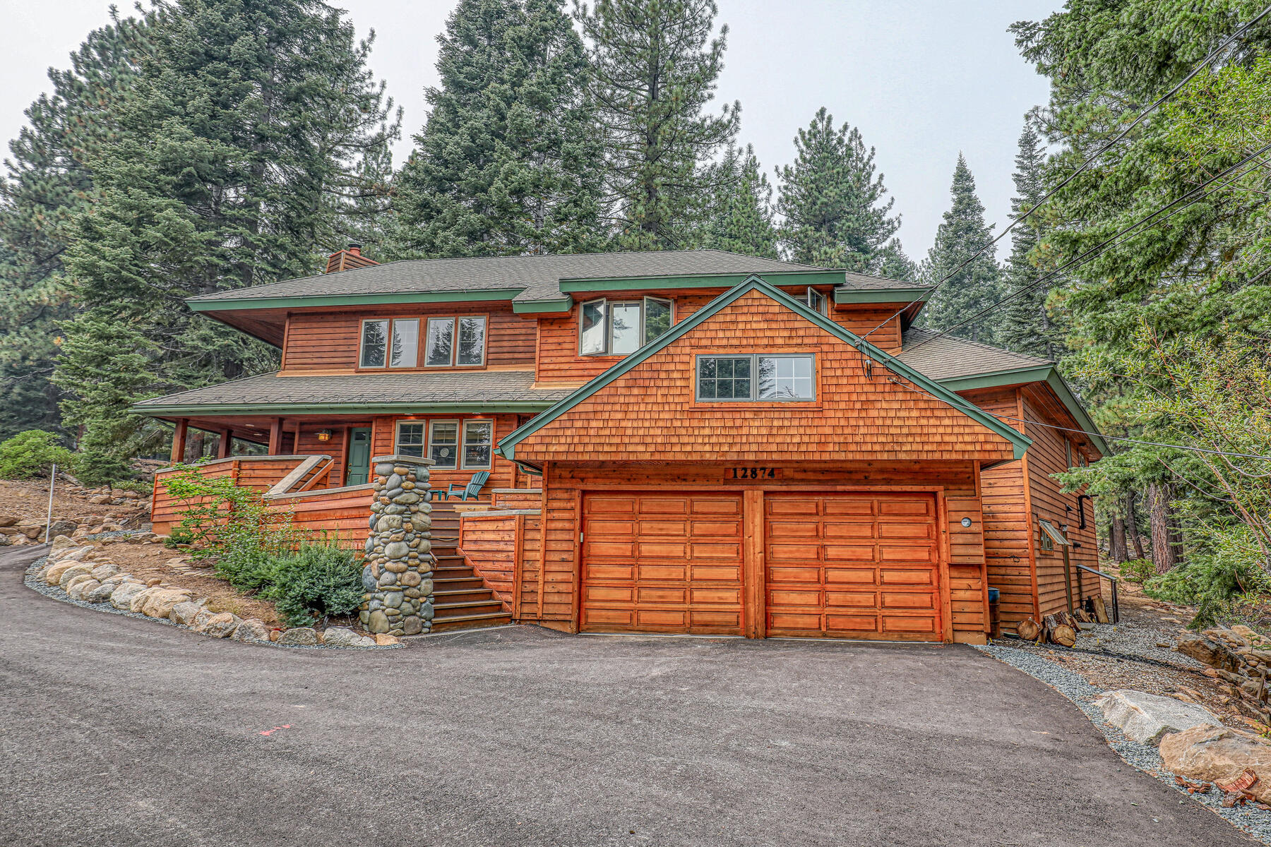 Single Family Homes for Active at Desirable Neighborhood In Tahoe Donner 12874 Roundhill Drive Truckee, California 96161 United States