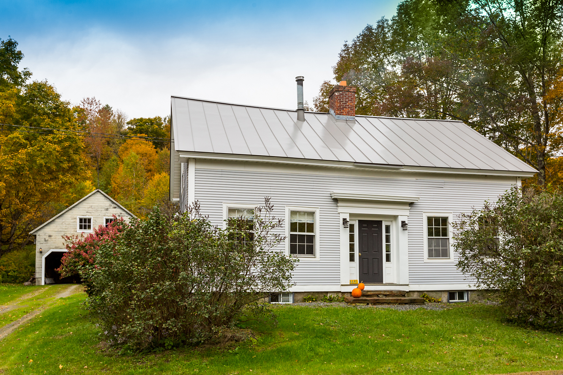 single family homes for Sale at Completely Renovated 1860 Country Cape 6641 Windham Hill Rd Windham, Vermont 05359 United States