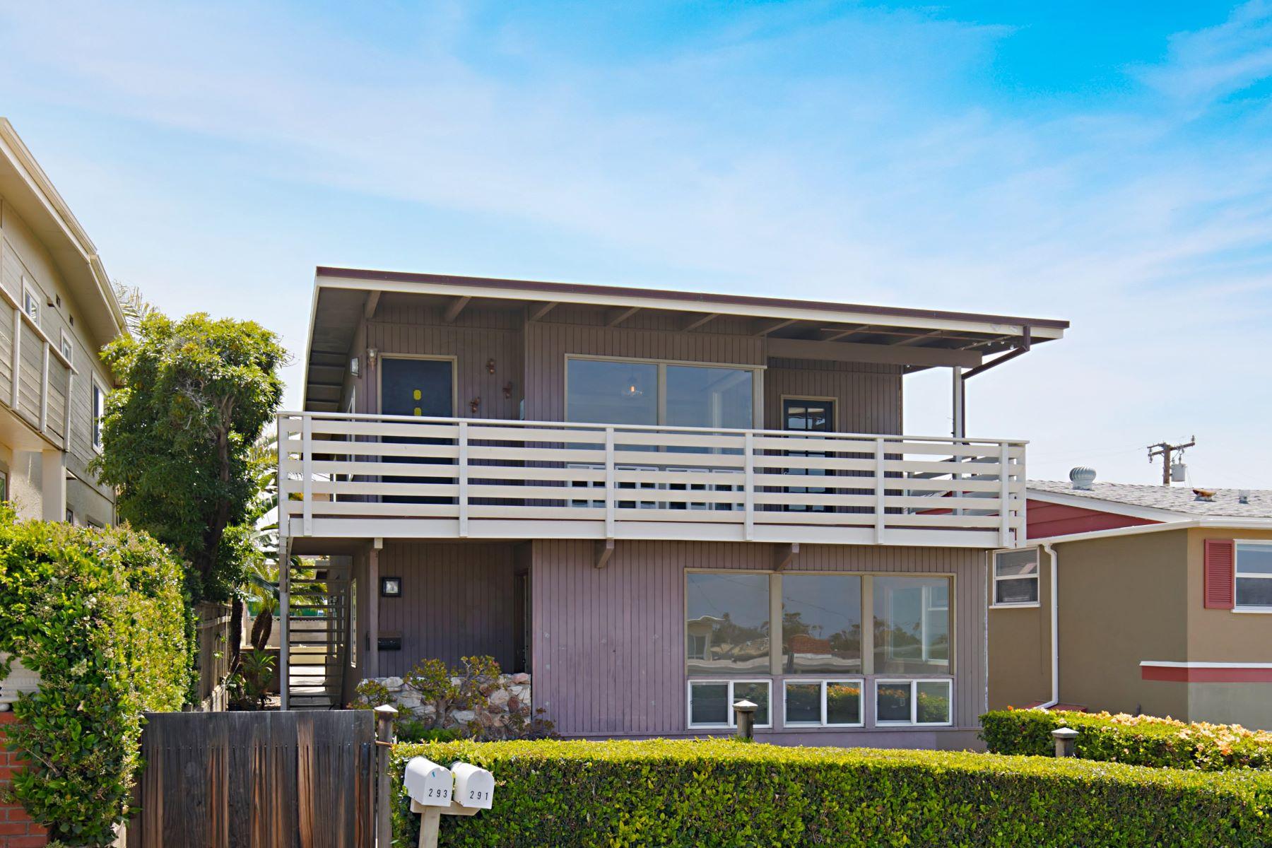 Duplex Homes por un Venta en 291 Beverly St. Laguna Beach, California 92652 Estados Unidos
