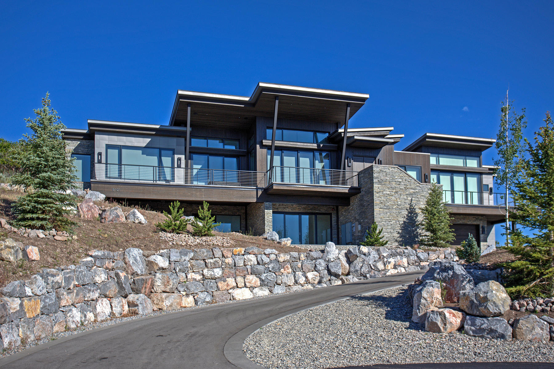Vivienda unifamiliar por un Venta en European Inspired Modern Mountain Design 8101 N Sunrise Loop Park City, Utah, 84098 Estados Unidos