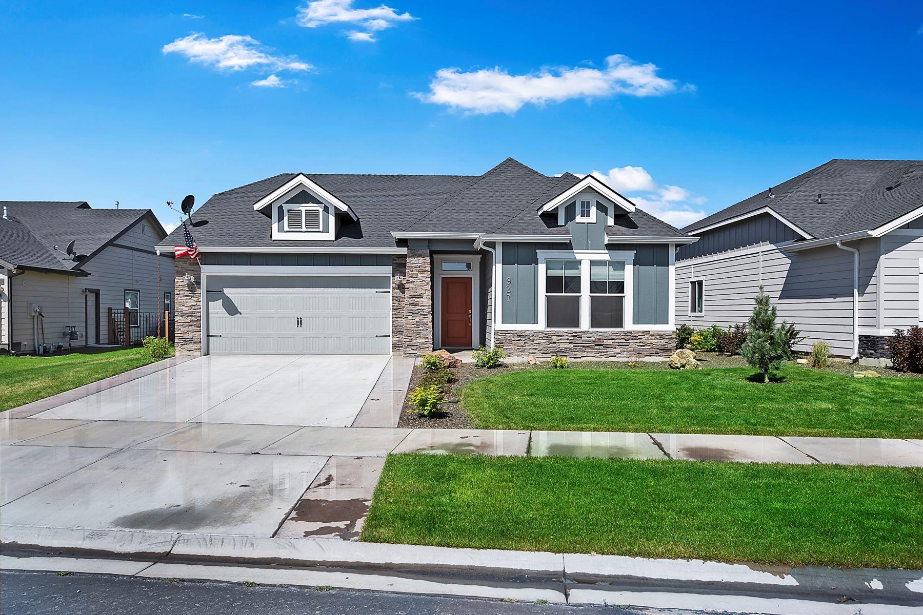 Single Family Homes por un Venta en 927 Chastain Lane Eagle, Idaho 83616 Estados Unidos