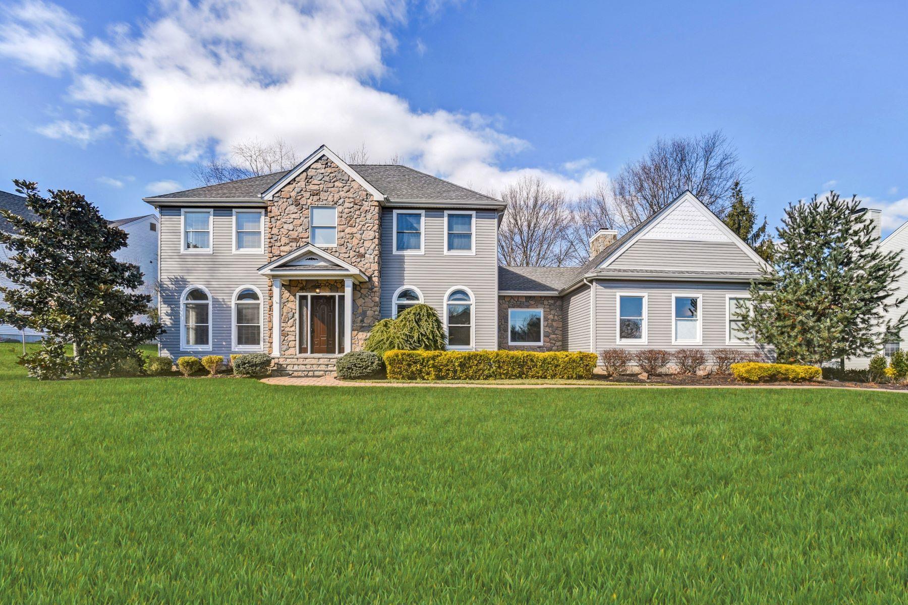 Single Family Homes por un Venta en Beautifully Renovated Colonial 17 Linberger Drive Bridgewater, Nueva Jersey 08807 Estados Unidos