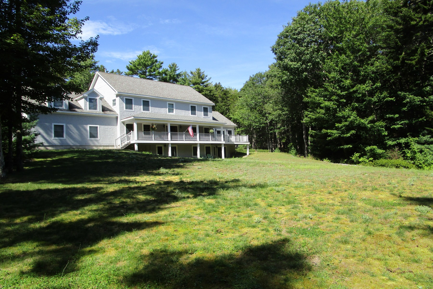 Single Family Homes for Sale at Denning Brook Home 41 Denning Brook Road Mount Desert, Maine 04660 United States