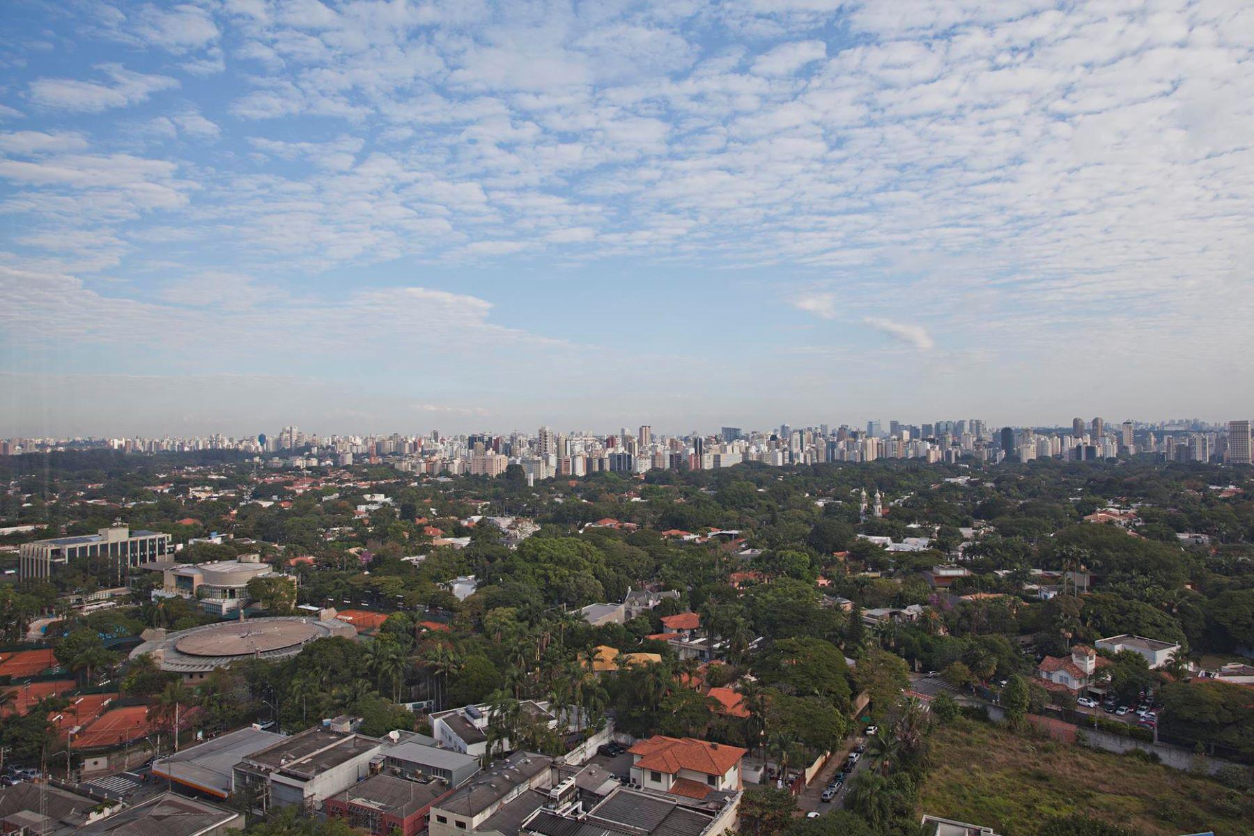 Wonderful View of São Paulo City  Sao Paulo, Sao Paulo 01414-002 Brazil