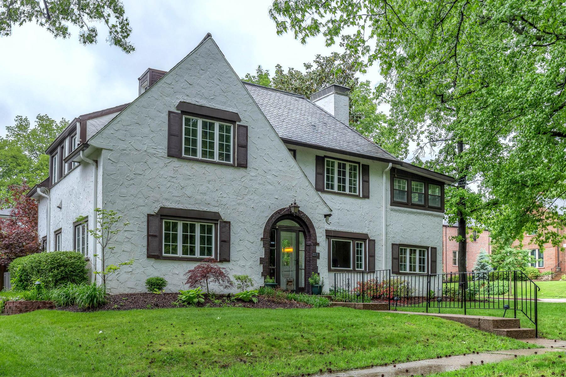 Maison unifamiliale pour l Vente à Oxford 7401 Oxford Clayton, Missouri, 63105 États-Unis