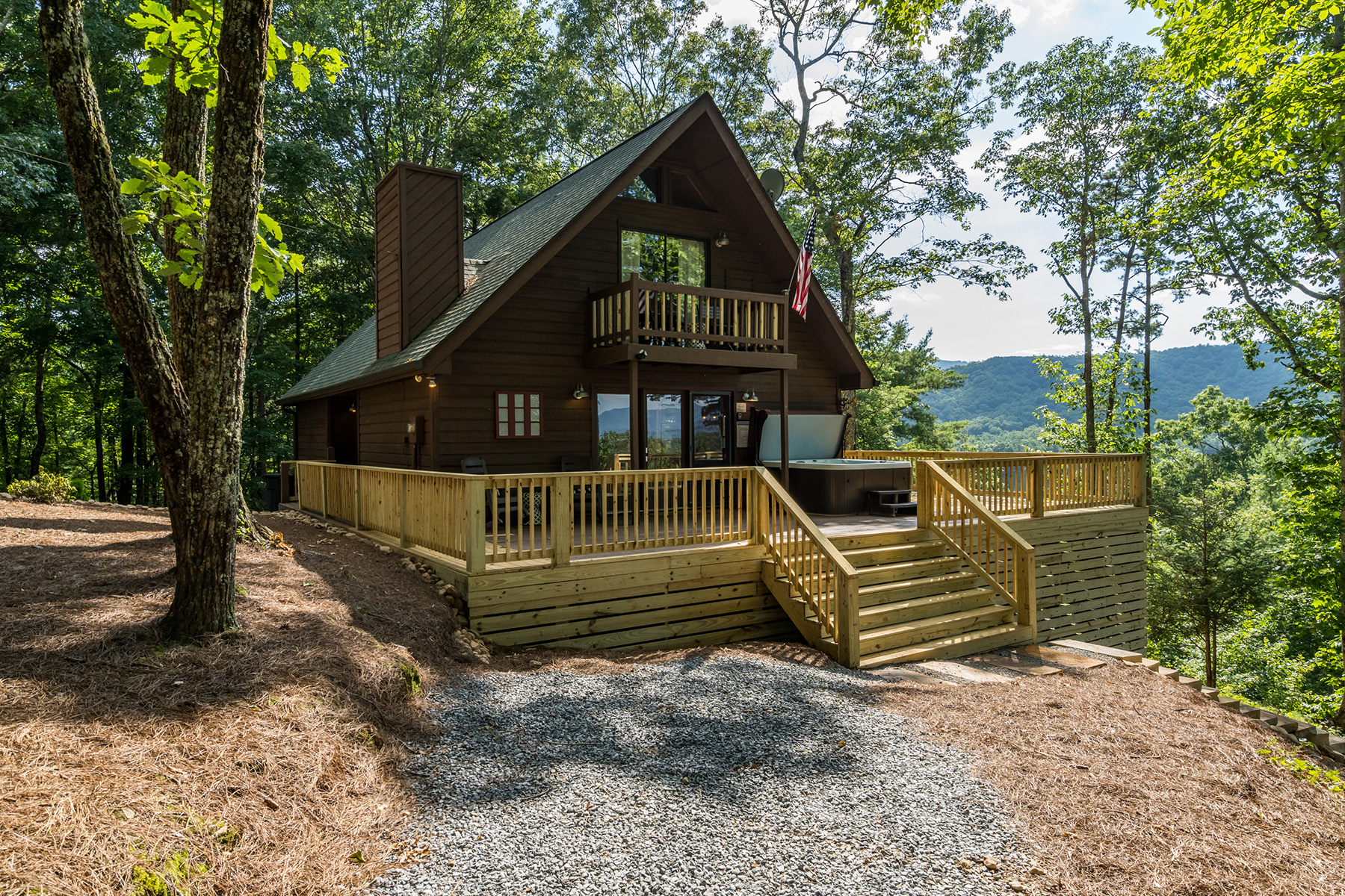 Single Family Homes vì Bán tại Charming Cabin 114 Boone Court, Ellijay, Georgia 30040 Hoa Kỳ