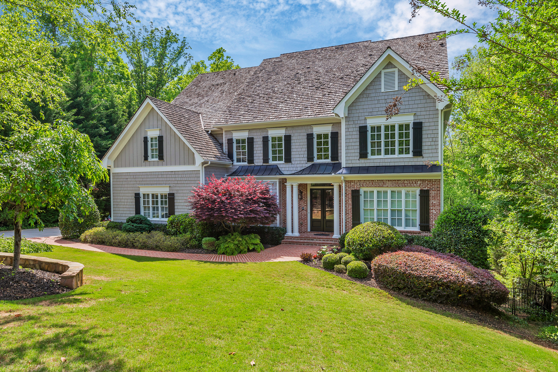 Single Family Home for Sale at Exquisite Executive Home with Custom Heated Pool and Cascading Stream in Milton 13220 Owens Way Alpharetta, Georgia 30004 United States