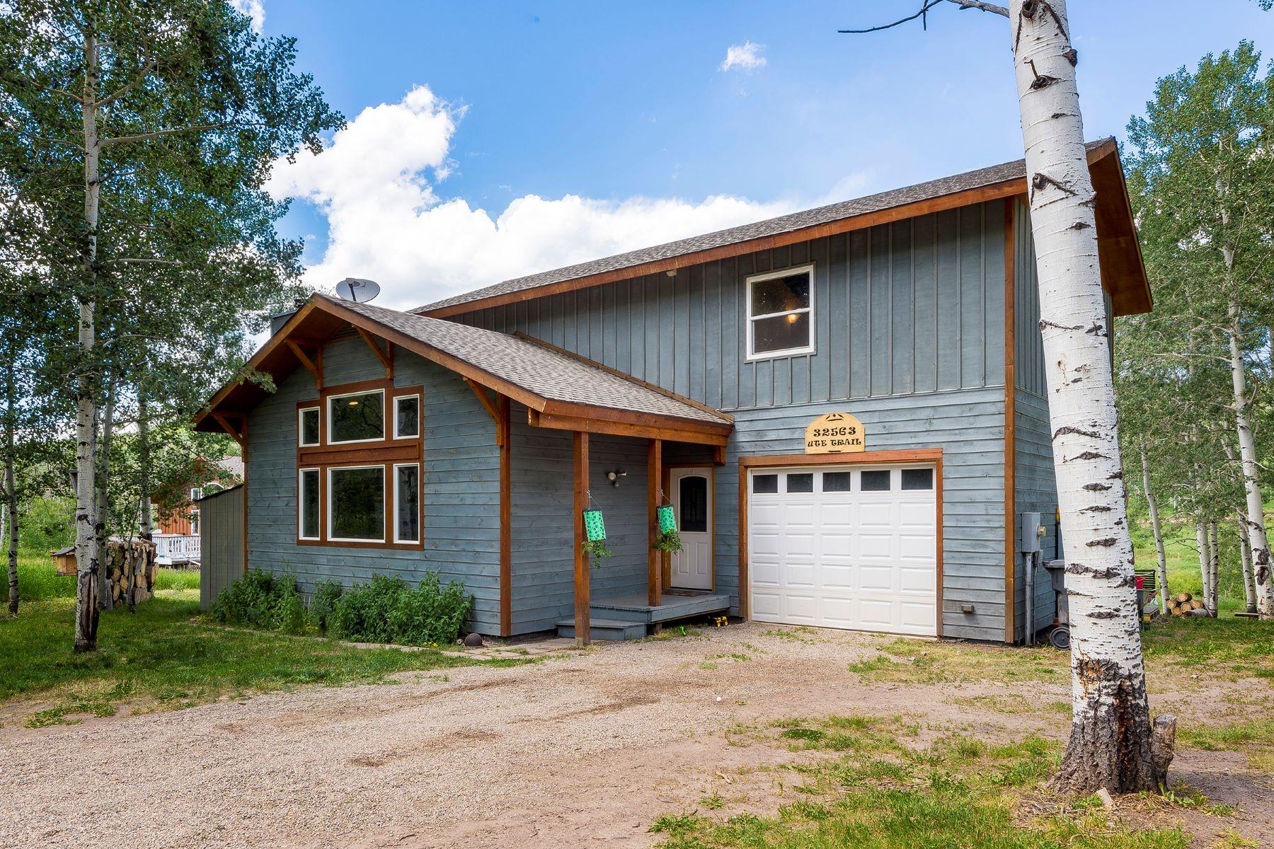 واحد منزل الأسرة للـ Sale في Large Yard, Bright Home in Stagecoach Colorado 32563 Ute Trail Oak Creek, Colorado, 80467 United States