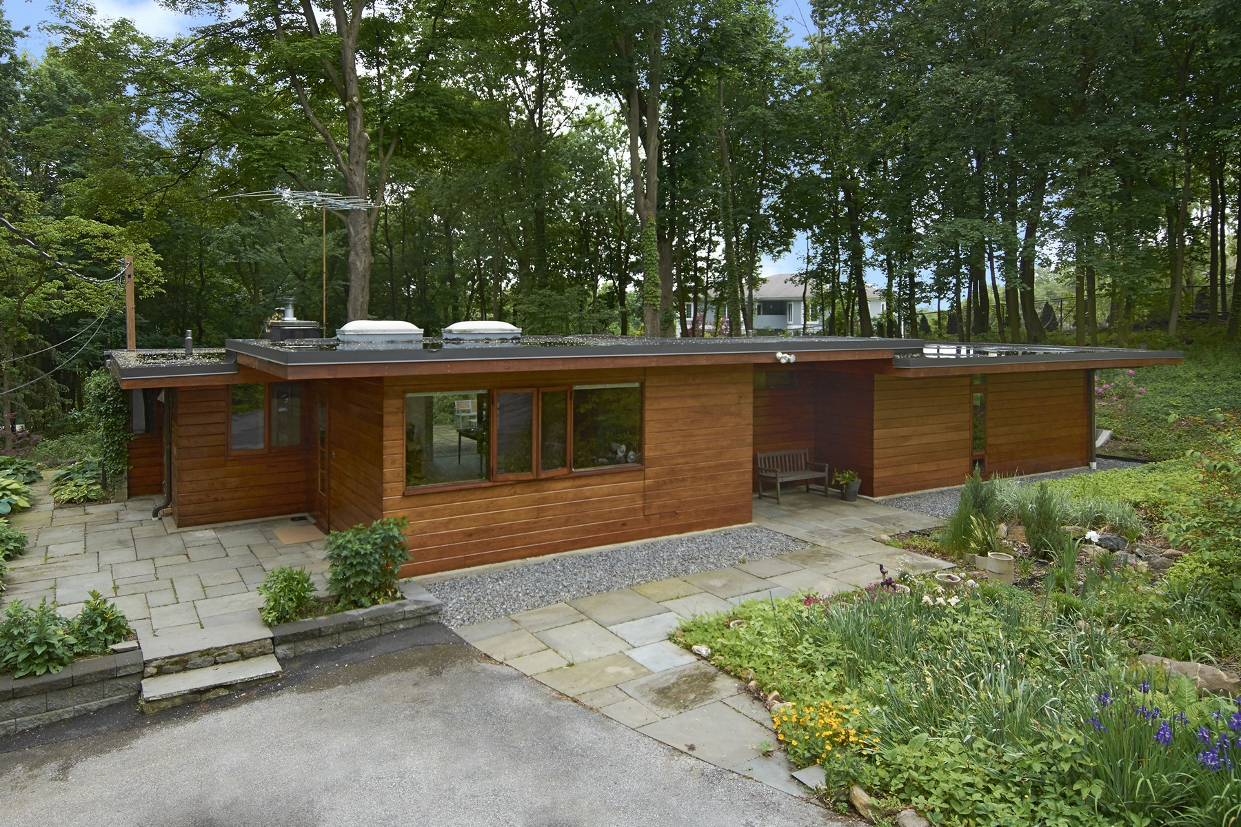 Single Family Home for Sale at Mid-Century Modern 2 Hemlock Drive Pleasantville, New York 10570 United States