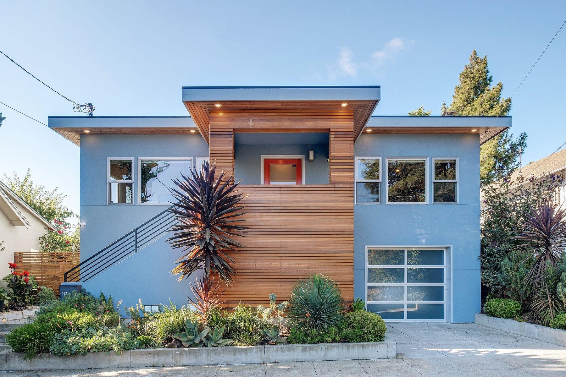 Single Family Homes por un Venta en Modern Luxury In The Heart Of Rockridge 440 58th Street Oakland, California 94609 Estados Unidos