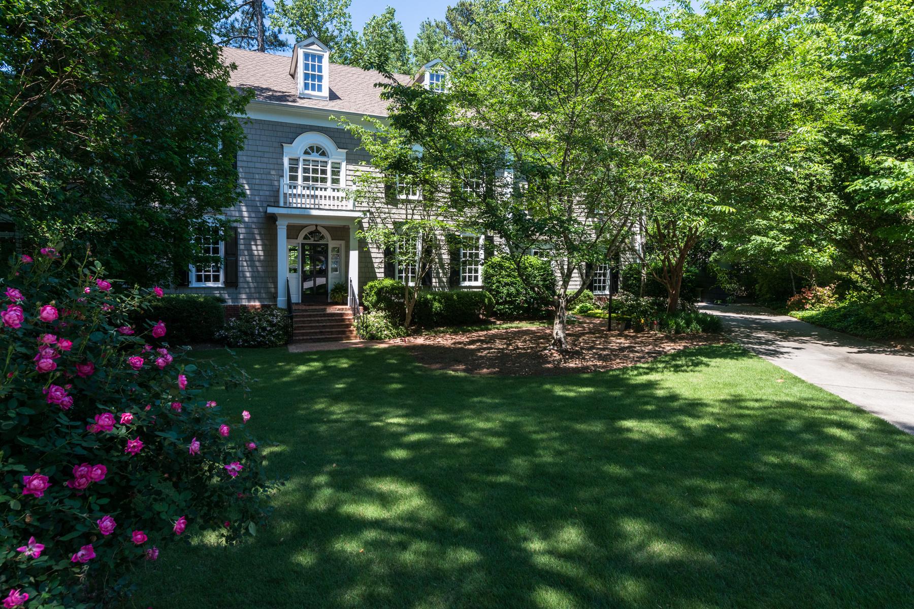 Casa para uma família para Venda às Elegant Traditional In Buckhead 919 Weyman Court NW Atlanta, Geórgia, 30327 Estados Unidos