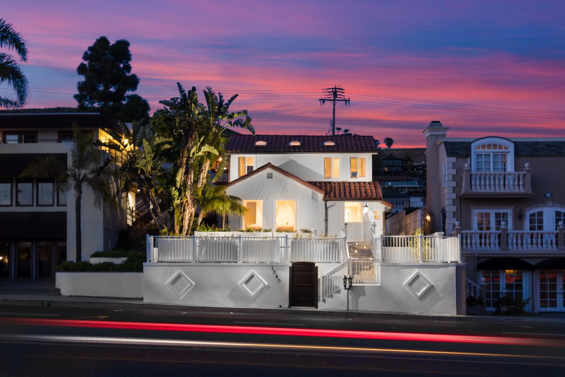 Single Family Homes for Active at 1060 N Coast Laguna Beach, California 92651 United States