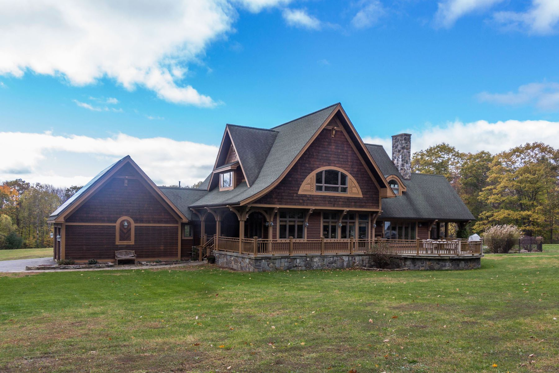 Single Family Homes for Sale at Storybook Craftsman Chalet 1112 Whitesides Rd Galway, New York 12074 United States