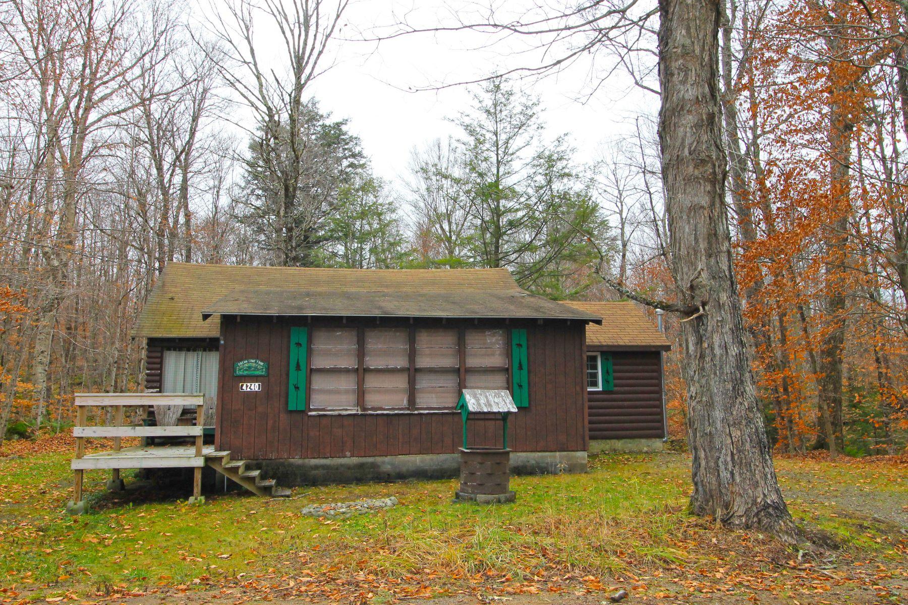 Single Family Homes für Verkauf beim Affordable Otter Lake Adirondack Cottage! 4240 Lakeview Road, Forestport, New York 13338 Vereinigte Staaten