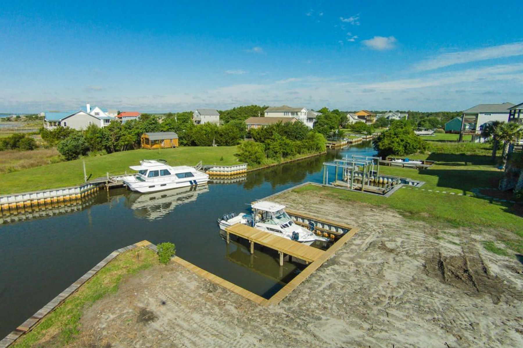Terreno por un Venta en Dual Water Views 206 Singleton Street 1 Sneads Ferry, Carolina Del Norte 28460 Estados Unidos