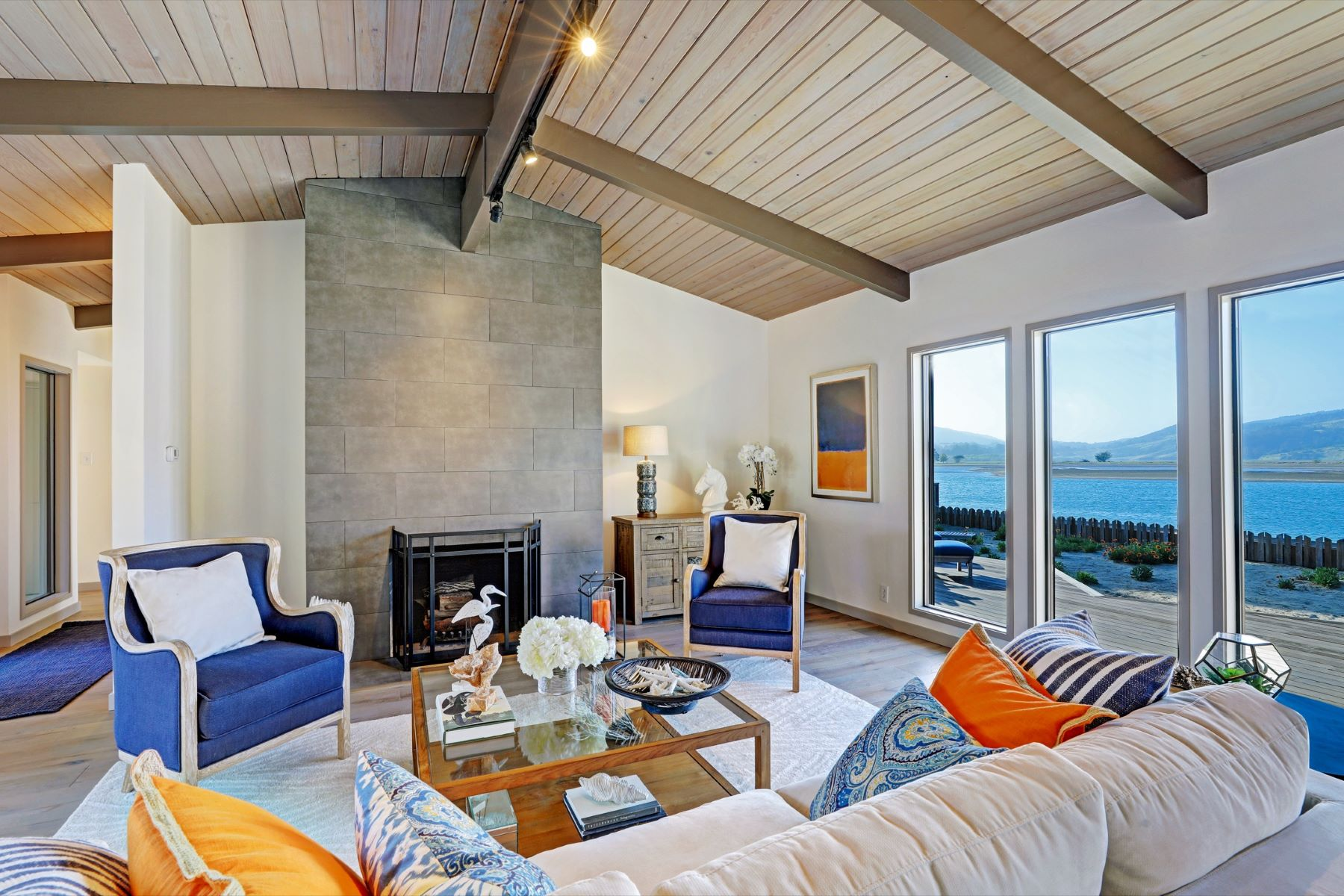 Single Family Home for Sale at First Time on Market – Seadrift on the Bolinas Lagoon 337 Seadrift Road Stinson Beach, California 94970 United States