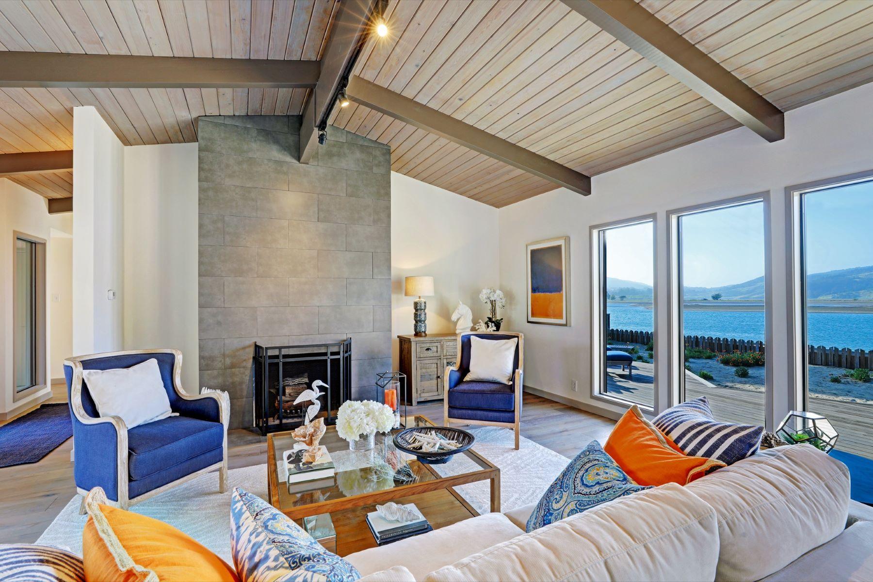Casa Unifamiliar por un Venta en First Time on Market – Seadrift on the Bolinas Lagoon 337 Seadrift Road Stinson Beach, California 94970 Estados Unidos