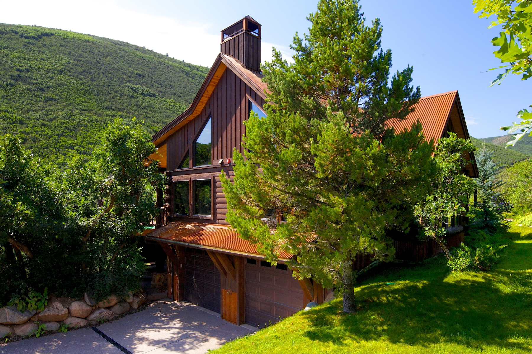 Casa Unifamiliar por un Venta en Sanctuary on West Sopris Creek 630 W. Sopris Creek Road Basalt, Colorado 81621 Estados Unidos