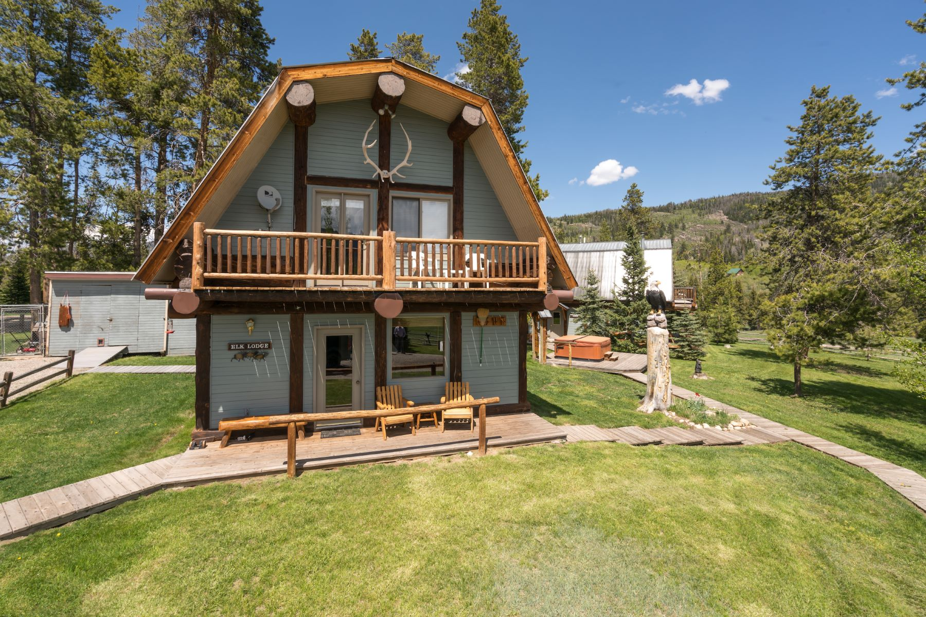 Additional photo for property listing at High Meadows Ranch 20505 County Road 16 Oak Creek, Colorado 80476 États-Unis