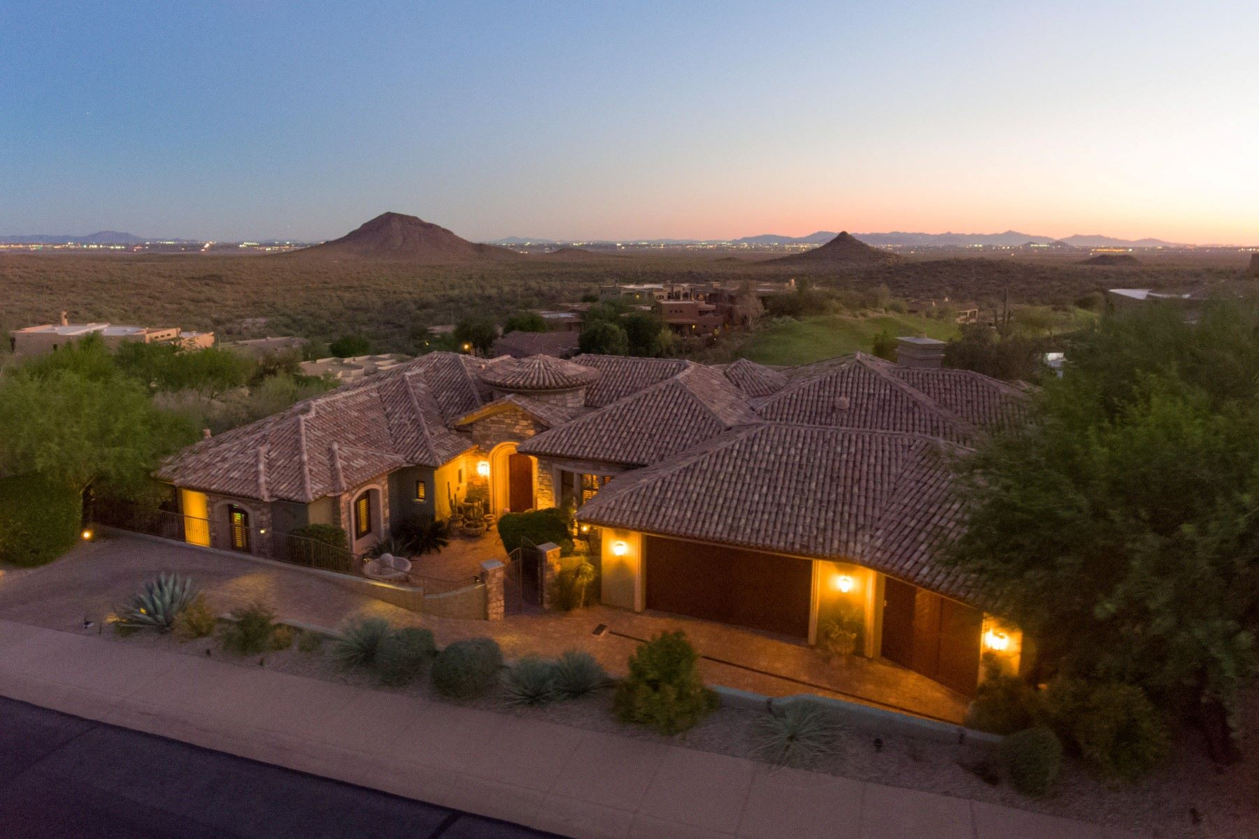 Single Family Home for Sale at Lavish customized estate in Fountain Hills 15210 E Czmelview Dr Fountain Hills, Arizona, 85268 United States
