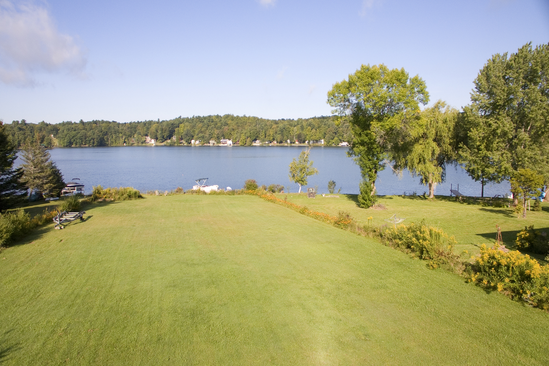 Single Family Homes for Sale at 100 Feet of Lake Frontage on Hortonia 5610 30 Route Sudbury, Vermont 05733 United States