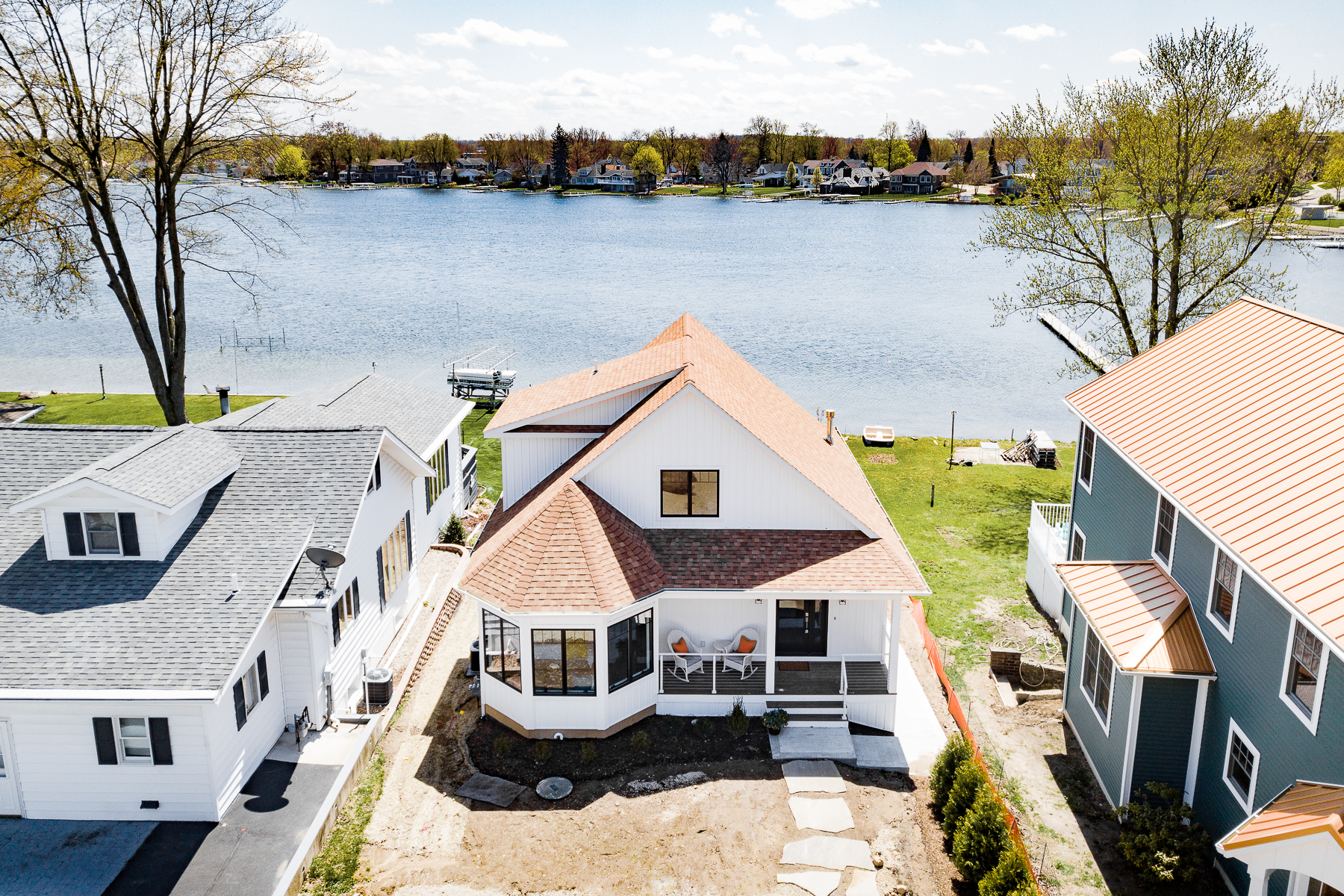 single family homes for Active at New Build on Syracuse Lake 613 E Northshore Dr Syracuse, Indiana 46567 United States