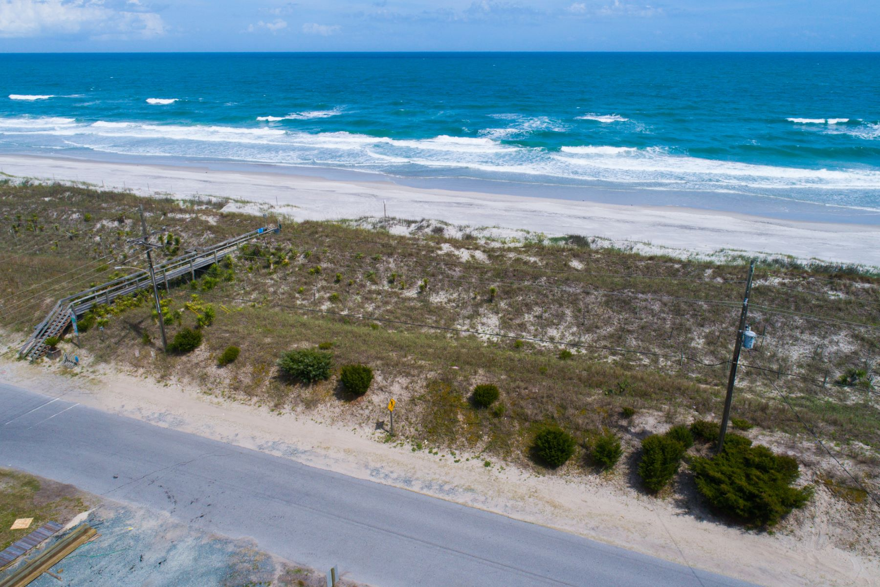 Land for Sale at Pristine Oceanfront Lot Lot 2 Ocean Blvd, Topsail Beach, North Carolina, 28445 United States