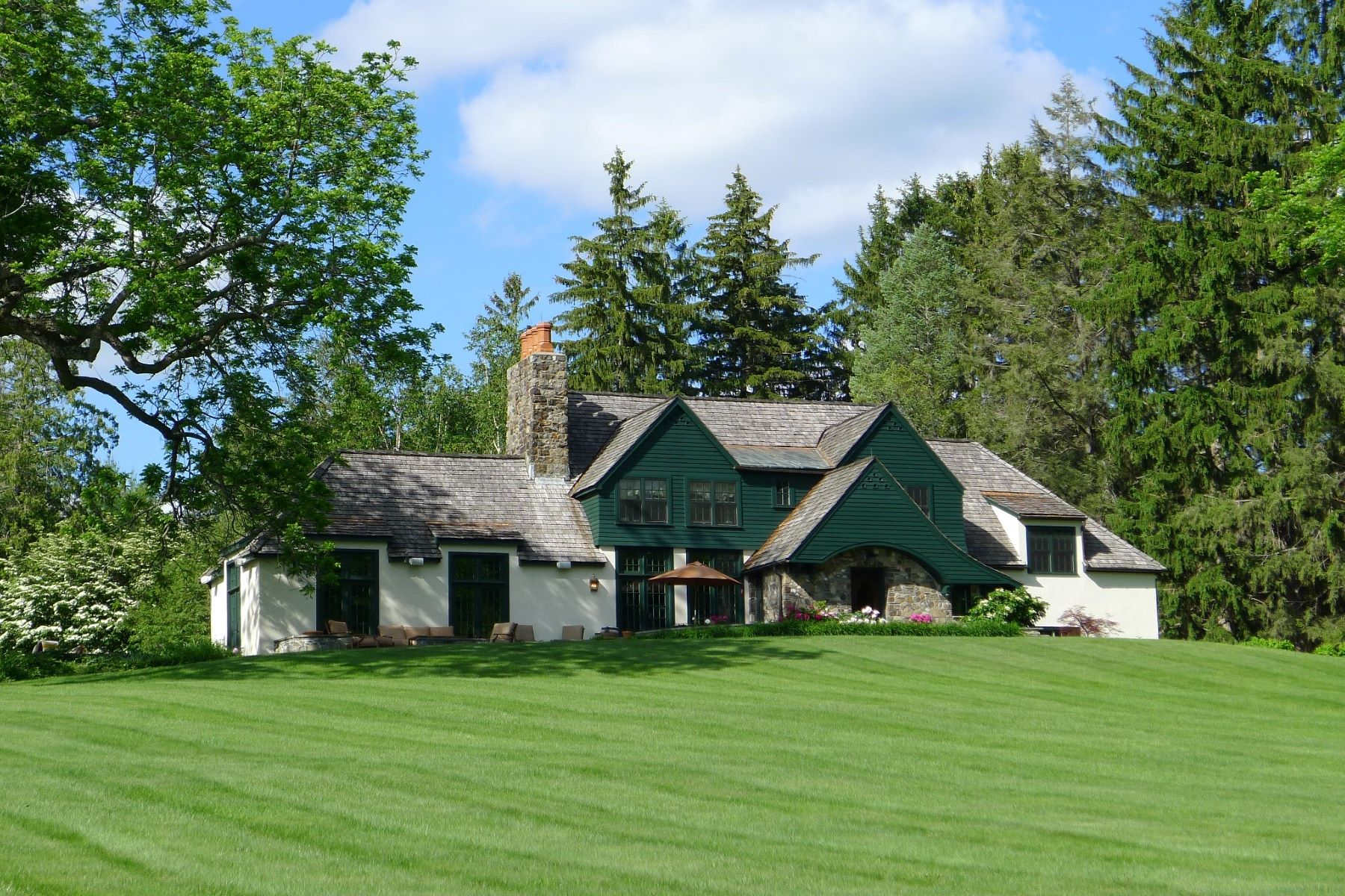 Single Family Homes pour l Vente à Grace Hill Farm 147 Altamont Road Millbrook, New York 12545 États-Unis