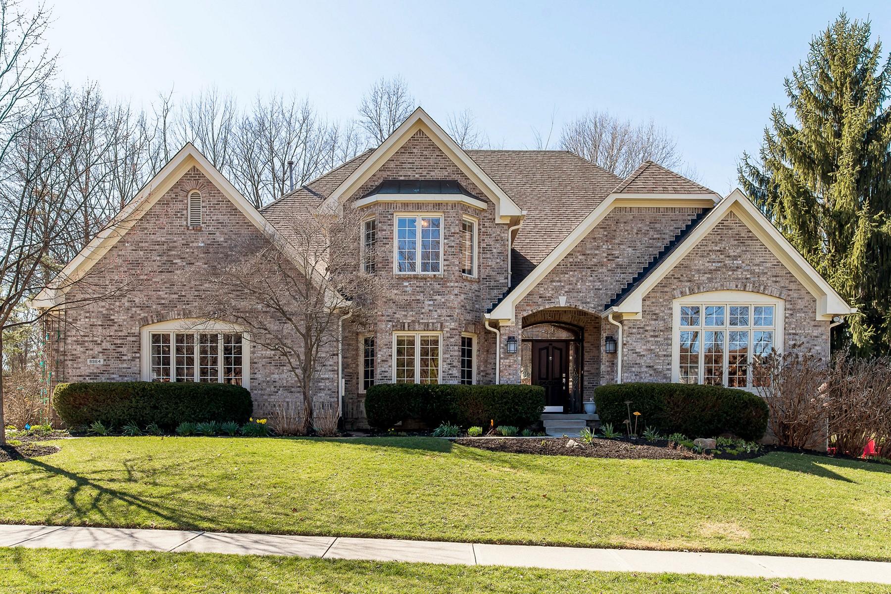 獨棟家庭住宅 為 出售 在 Updated Yet Traditional 8964 Bay Breeze Lane Indianapolis, 印第安那州, 46236 美國