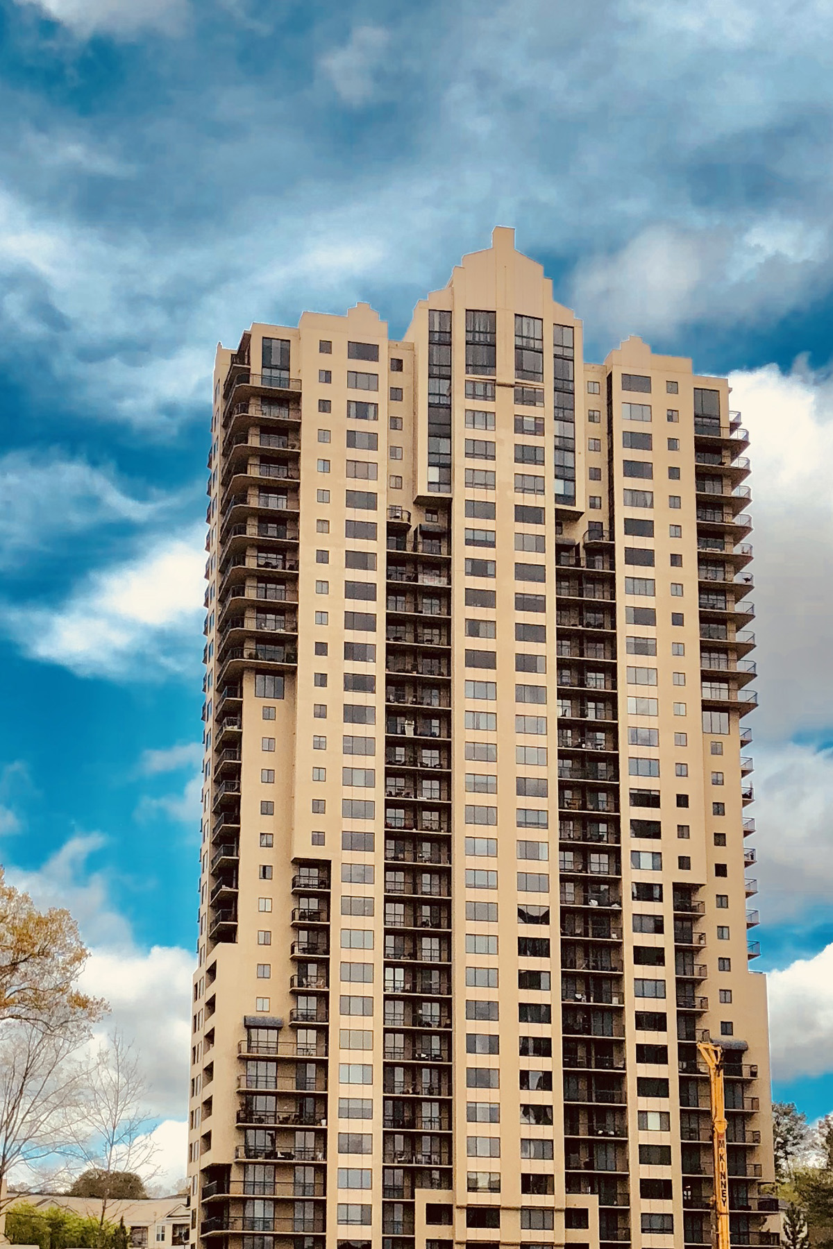 Condominium for Sale at Renovated End Unit Two Bedroom Buckhead Condo With Three Balconies 3481 Lakeside Drive NE #1502 Atlanta, Georgia 30326 United States
