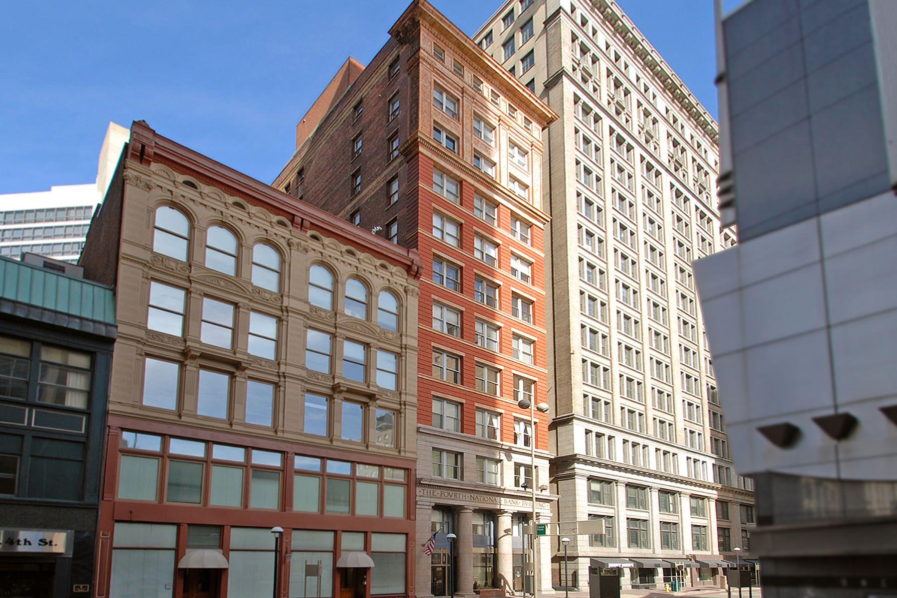 Condominiums für Verkauf beim Stunning Penthouse Residence 18 E. Fourth Street, #1201, Cincinnati, Ohio 45202 Vereinigte Staaten