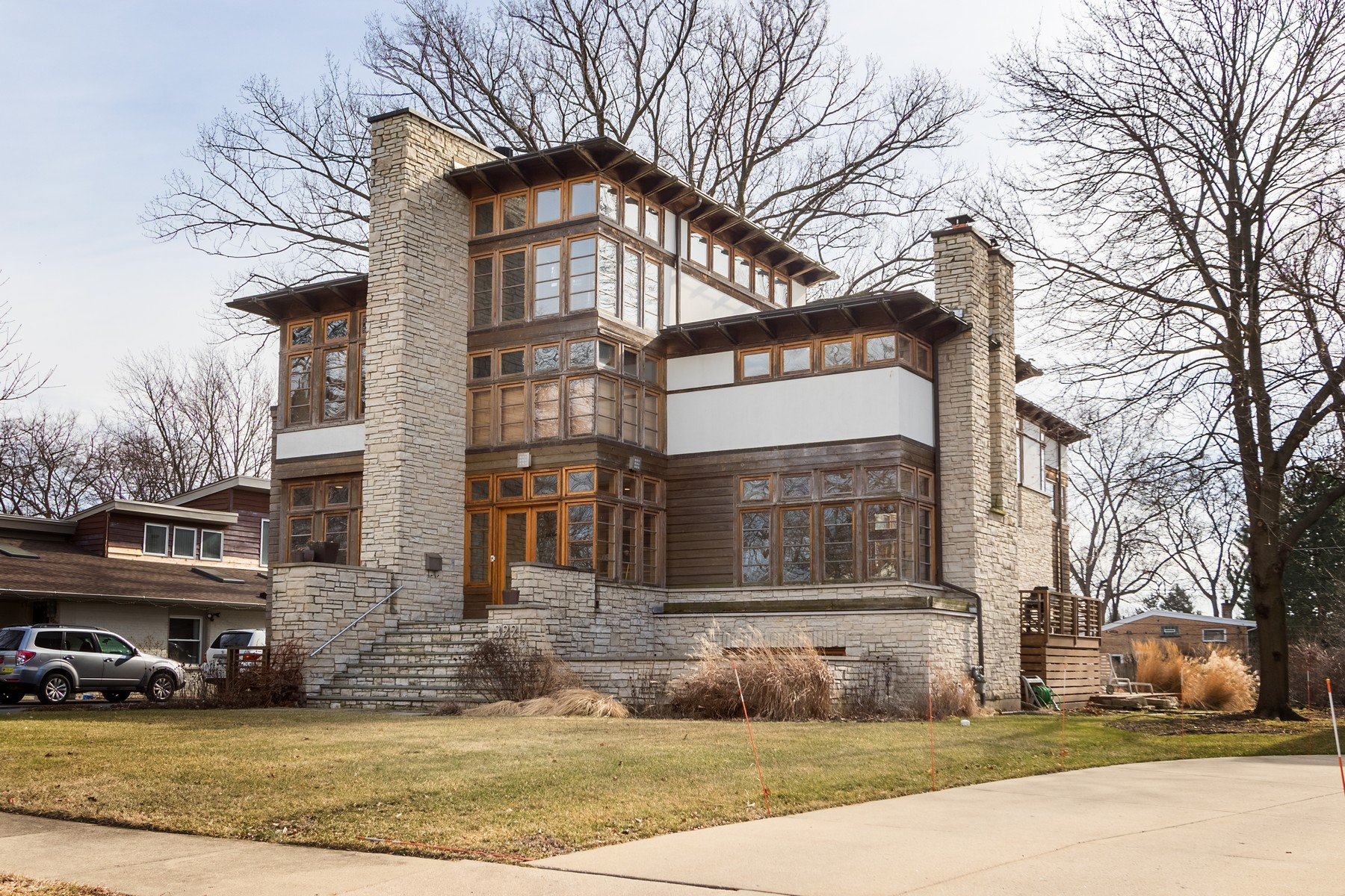 Single Family Home for Sale at One of a Kind, Contemporary Wilmette Home 3221 Wilmette Avenue Wilmette, Illinois 60091 United States