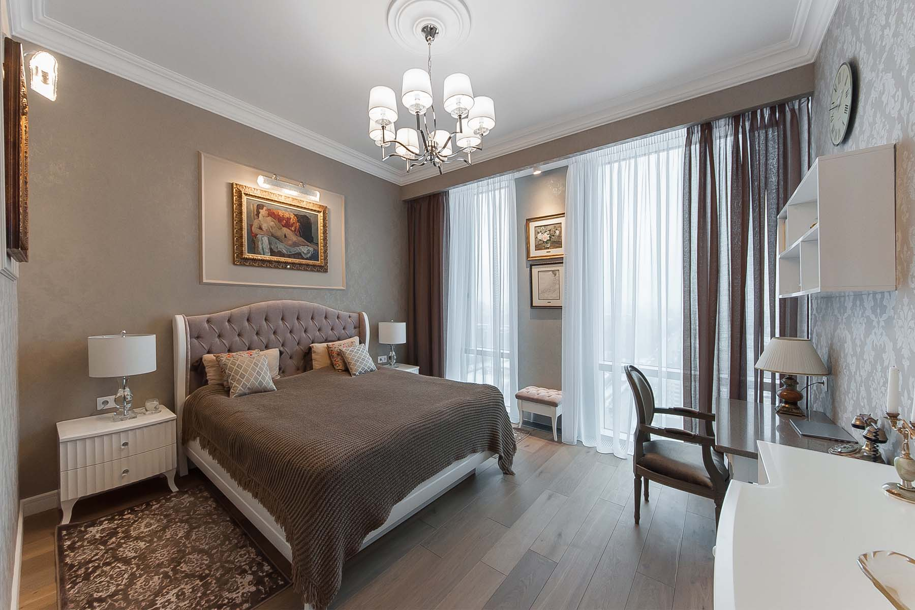 """Additional photo for property listing at Designer apartment щof100 sq.m. in the Residential Complex """"House on Mosfilmovsk Moscow, Moscow Russia"""