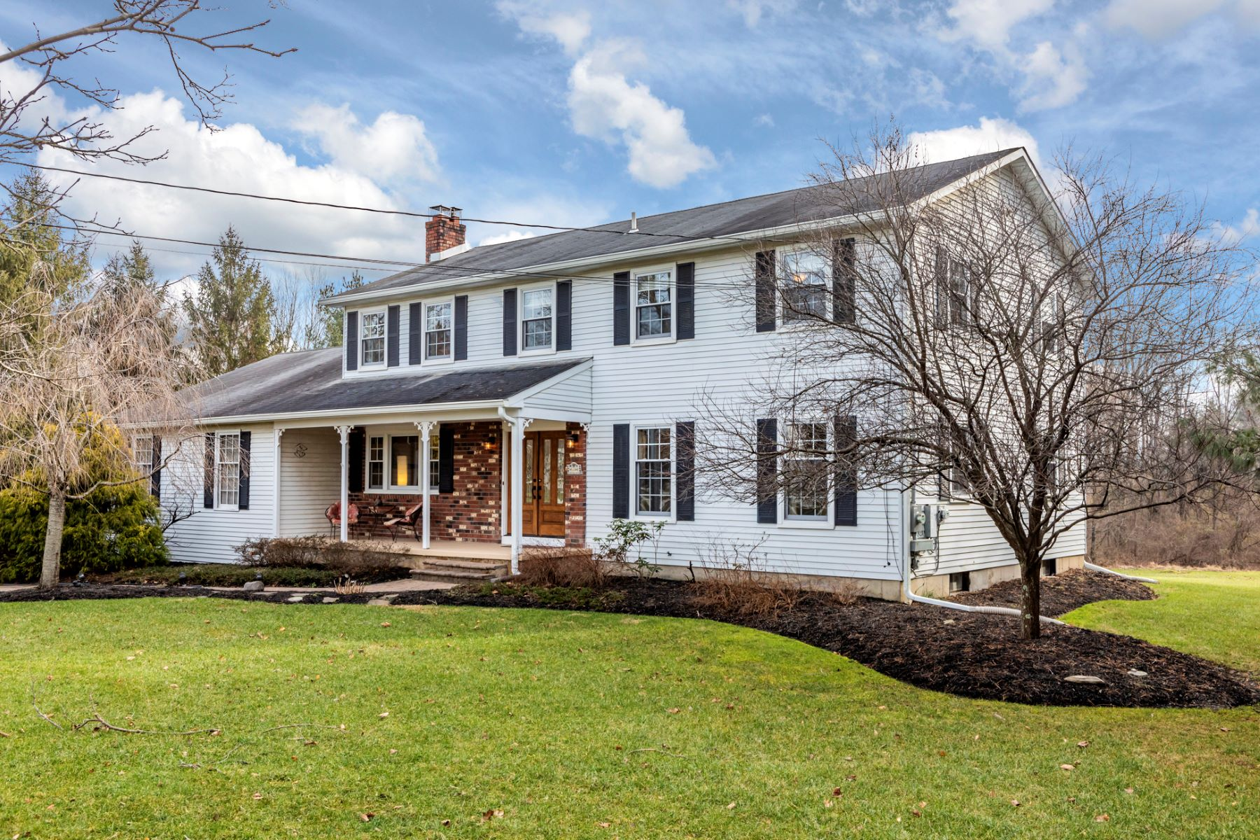 Single Family Home for Sale at Park-Like Setting for Sparkling Lawrence Colonial 19 Van Kirk Road, Princeton, New Jersey 08540 United States