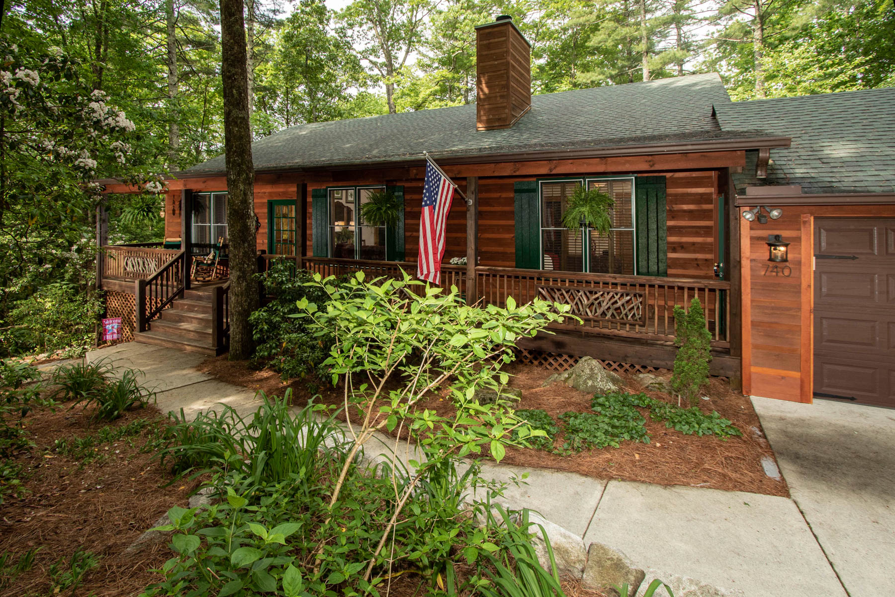 Single Family Homes for Active at 740 Blackberry Trail Sapphire, North Carolina 28774 United States