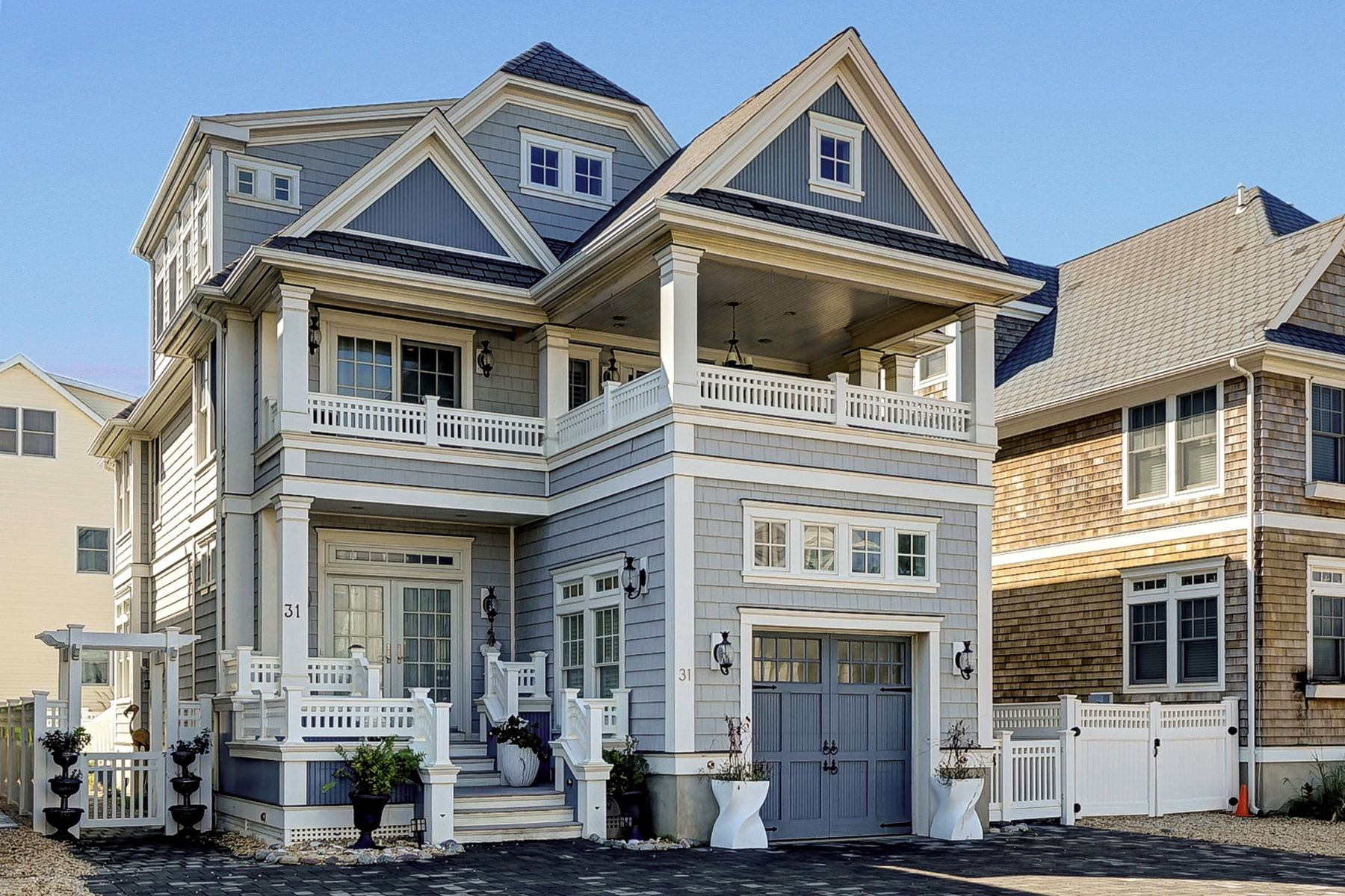 Single Family Homes por un Venta en Custom Built Beach Block Home 31 5th Avenue Normandy Beach, Nueva Jersey 08739 Estados Unidos