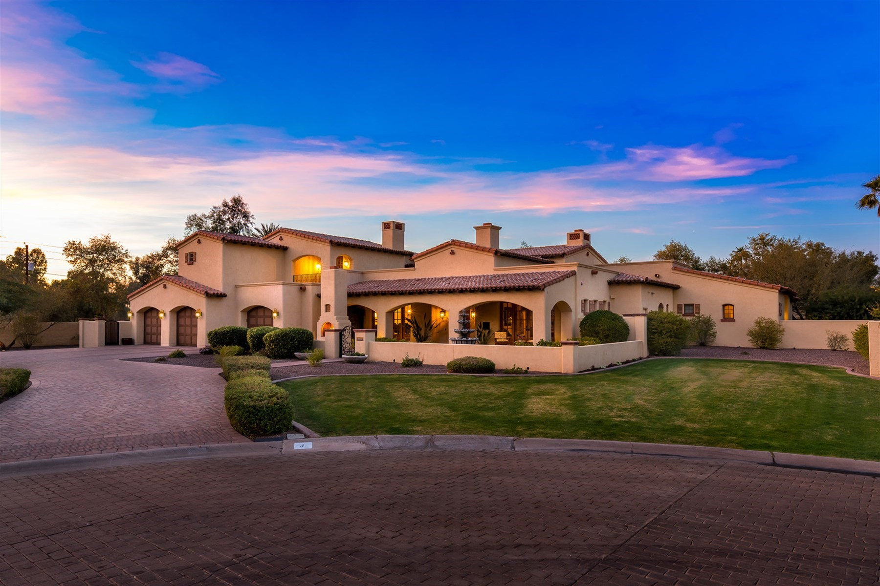 Single Family Home for Sale at Timeless Spanish Colonial in Equestrian Manor 6004 E Laurel Ln, Scottsdale, Arizona, 85254 United States